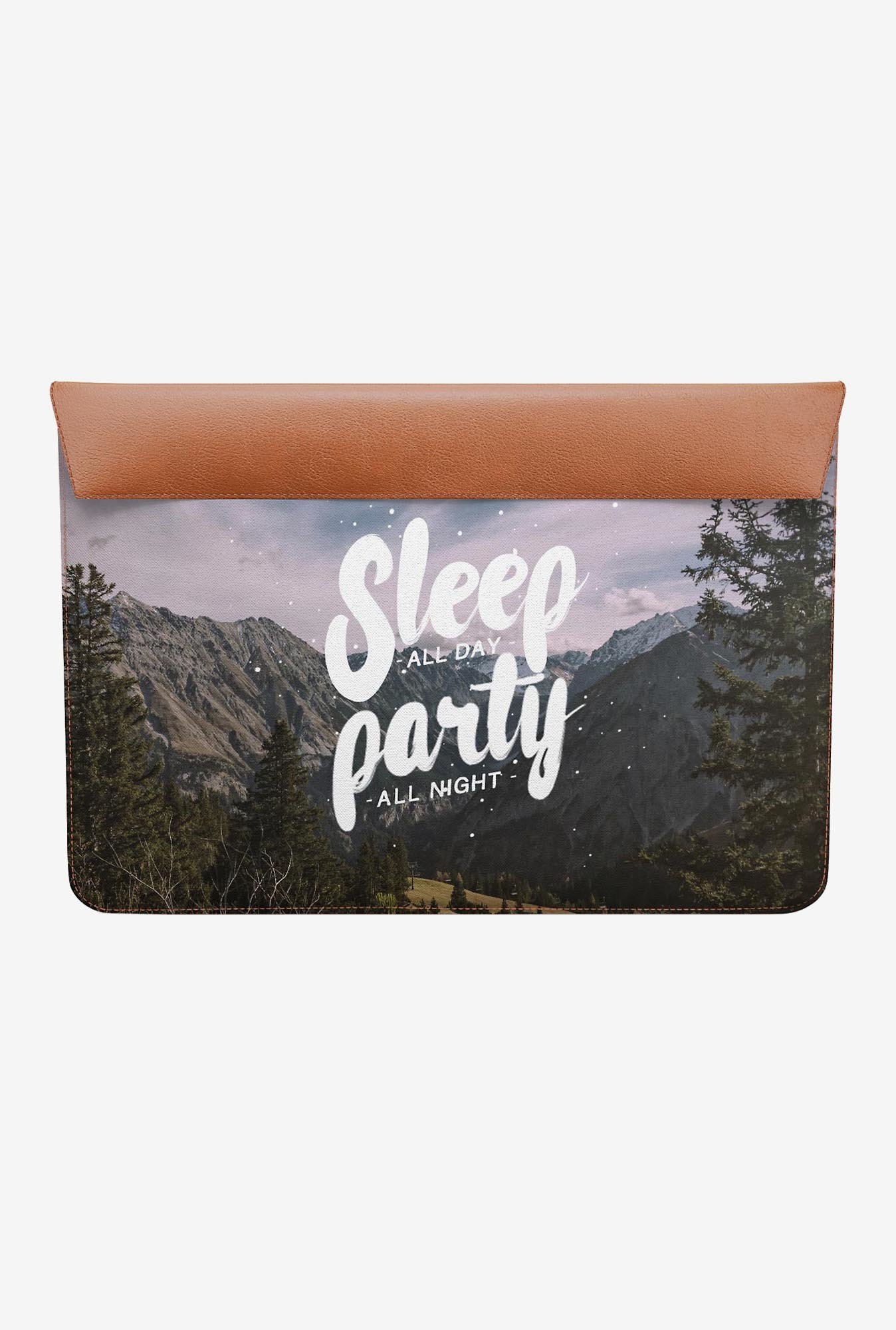 DailyObjects Party All Night MacBook 12 Envelope Sleeve