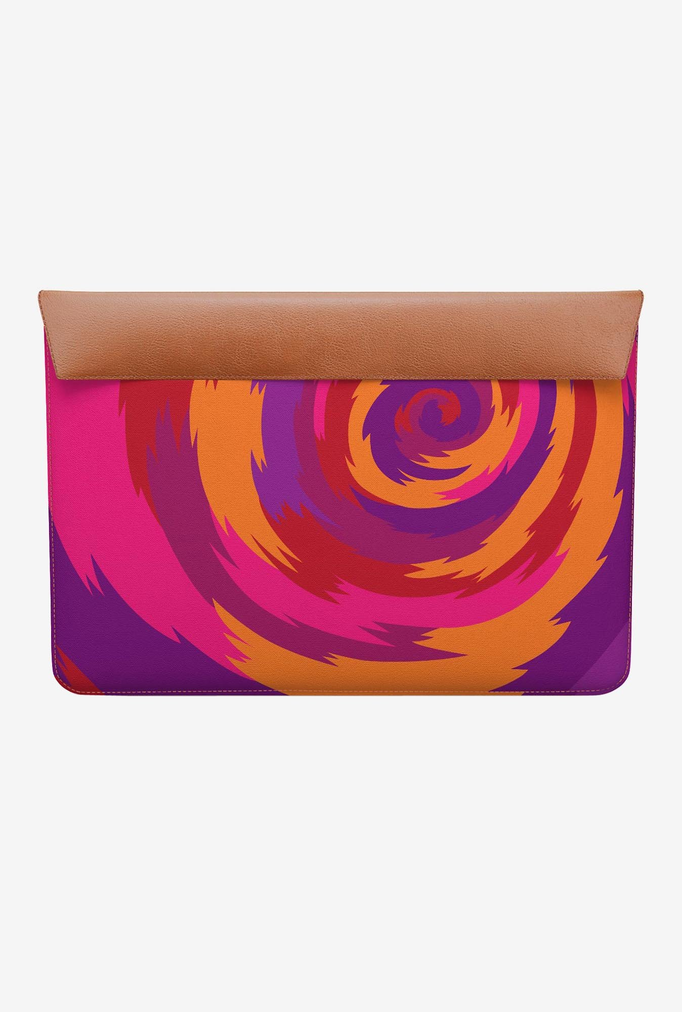 DailyObjects Purple Swirl MacBook 12 Envelope Sleeve