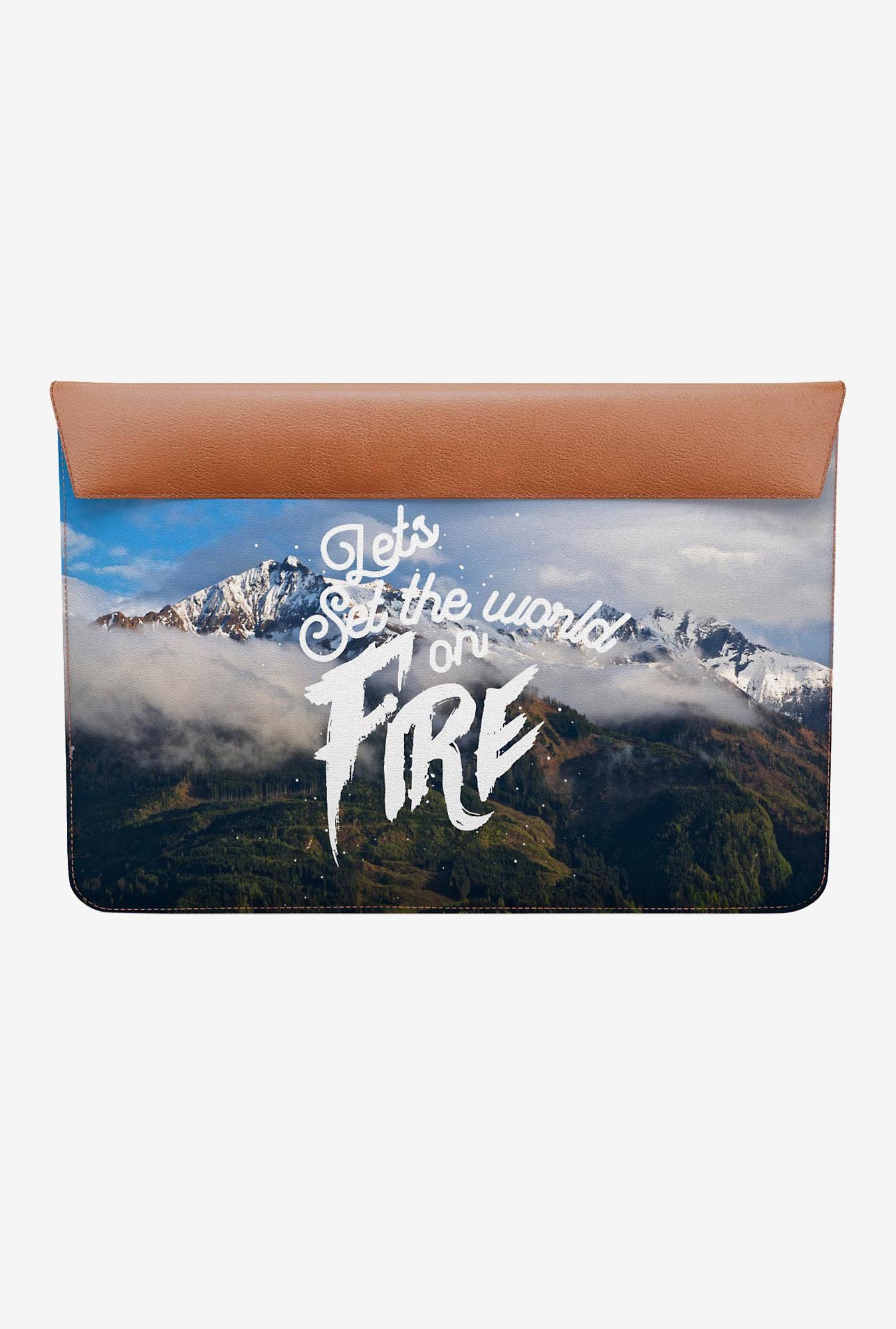 DailyObjects Set World Fire MacBook Air 11 Envelope Sleeve