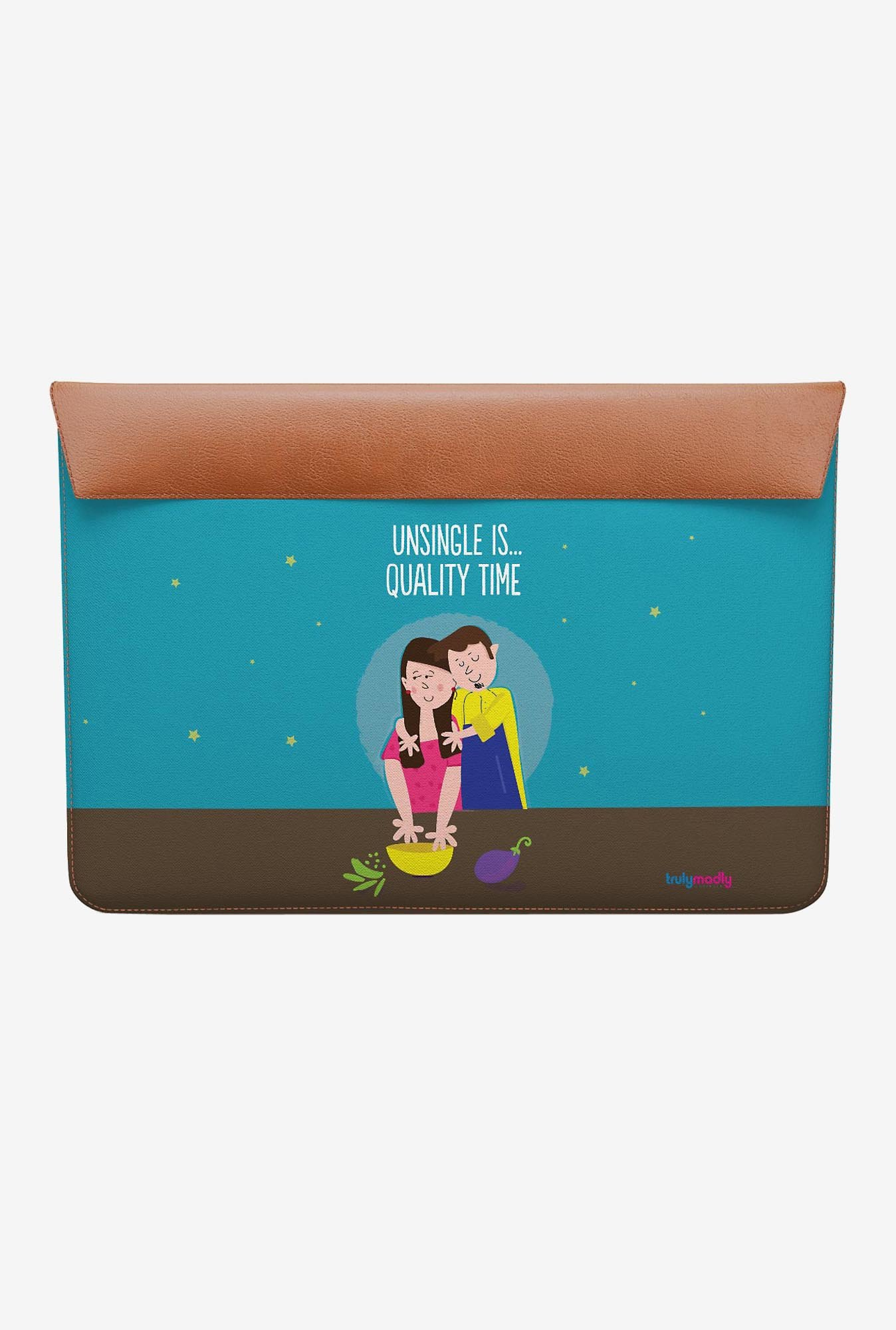 DailyObjects Quality Time MacBook 12 Envelope Sleeve