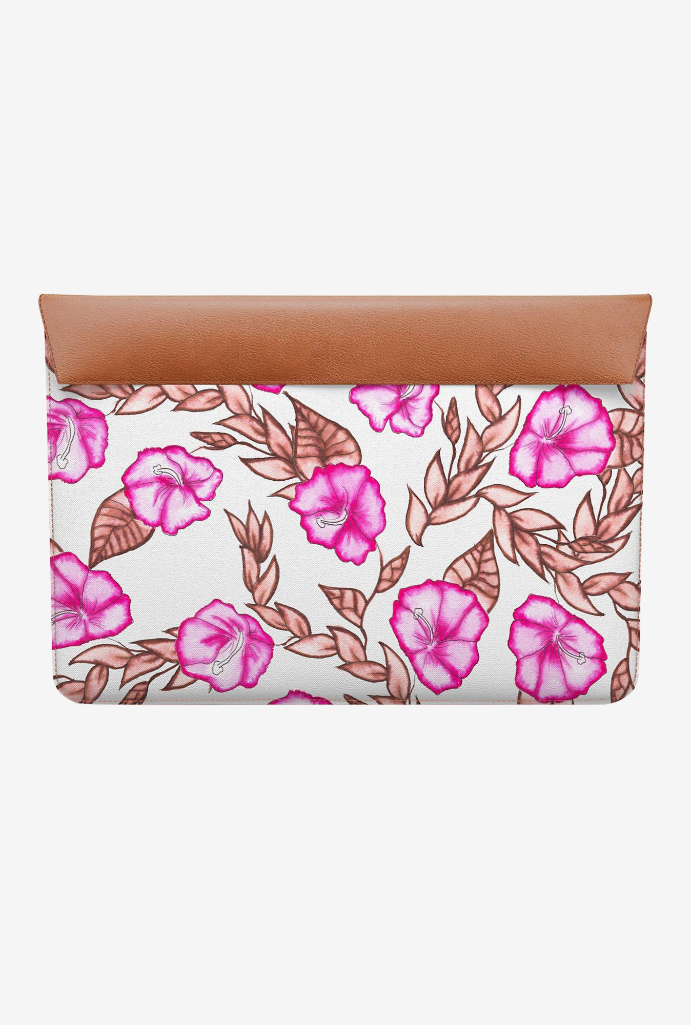 DailyObjects Pink Floral MacBook Air 11 Envelope Sleeve