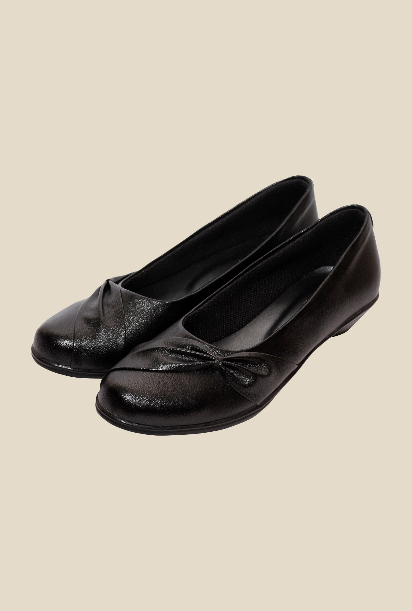 Global Step Black Flat Ballets