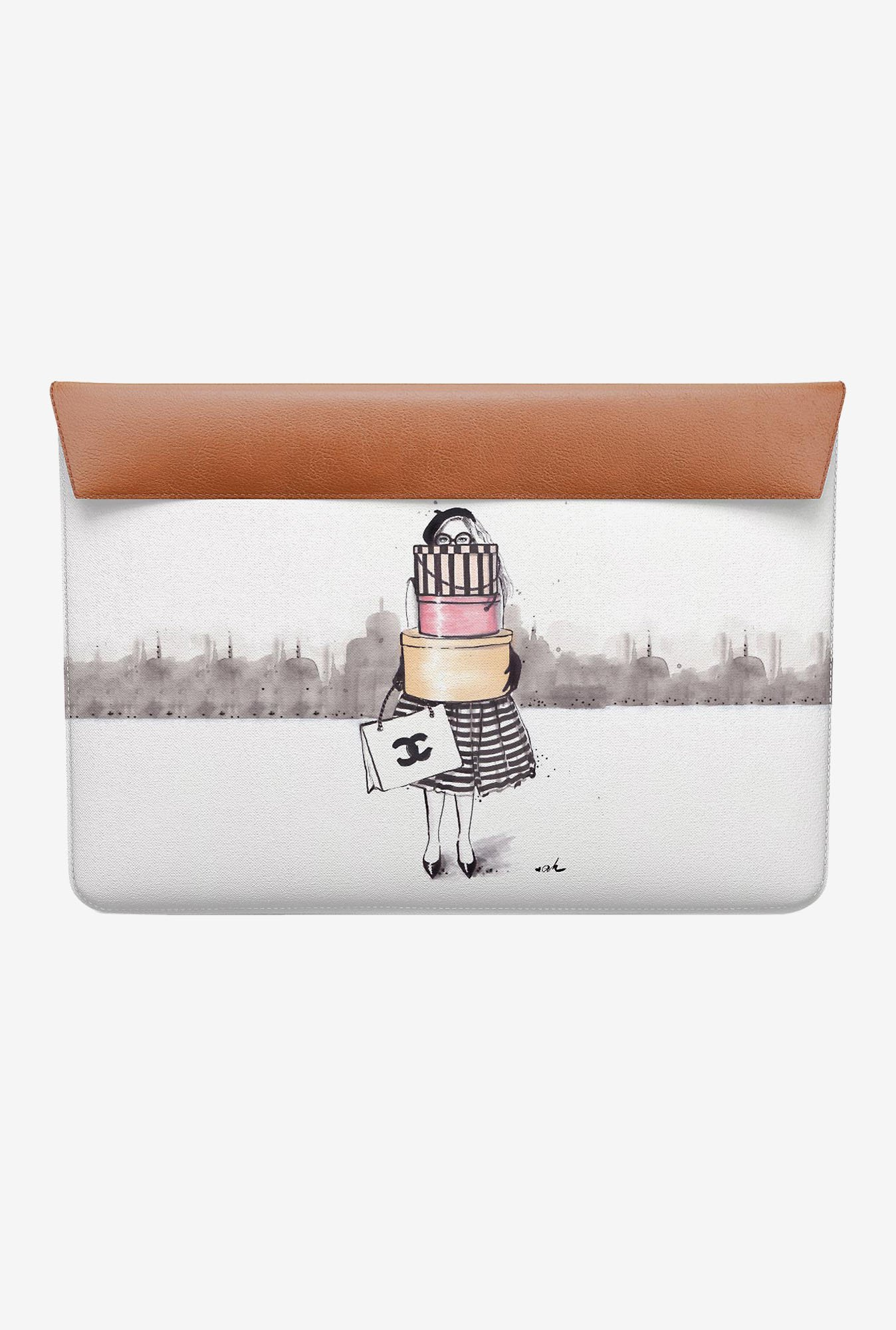 DailyObjects Shopping Junkie MacBook Air 13 Envelope Sleeve