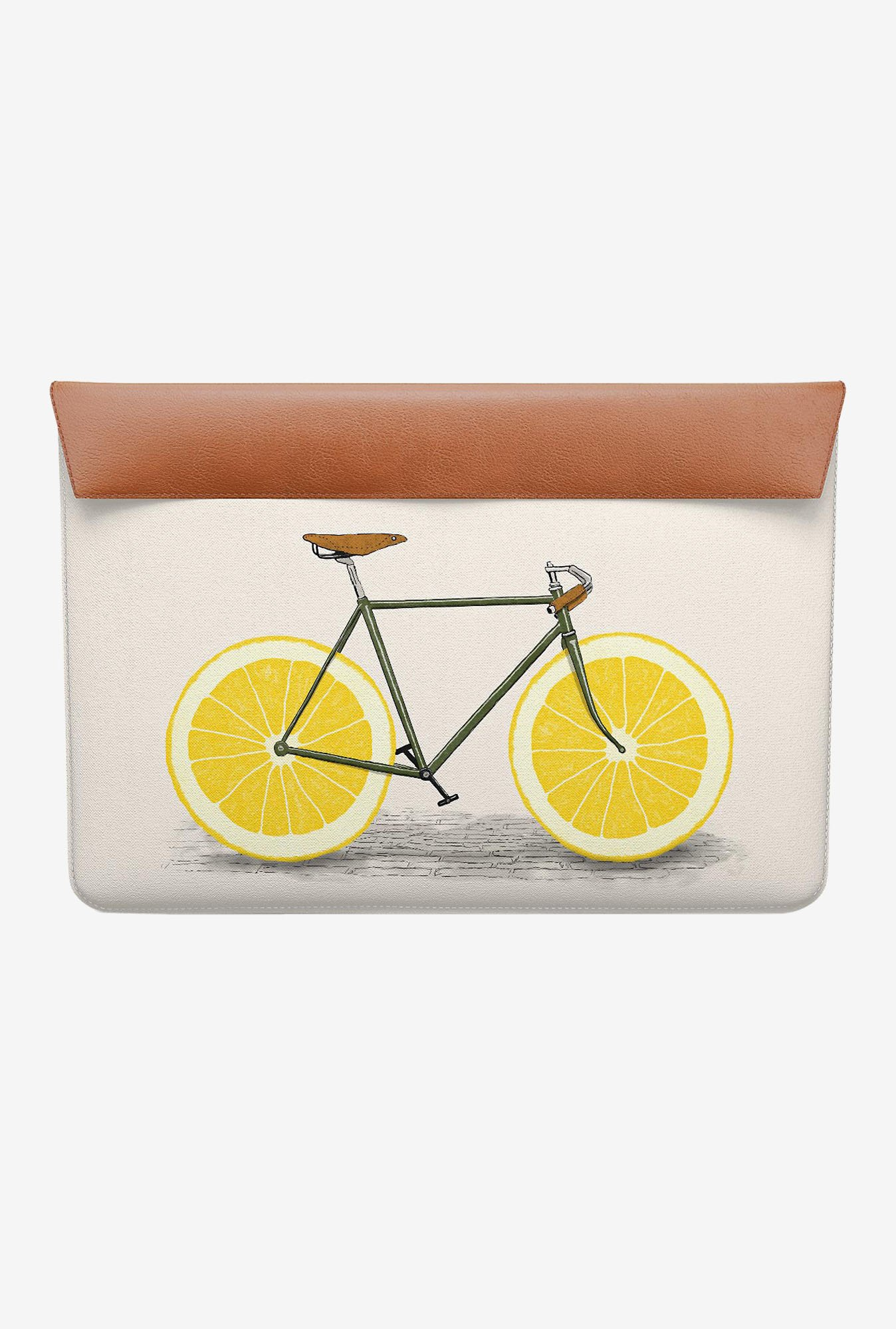 DailyObjects Yellow Wheels MacBook 12 Envelope Sleeve