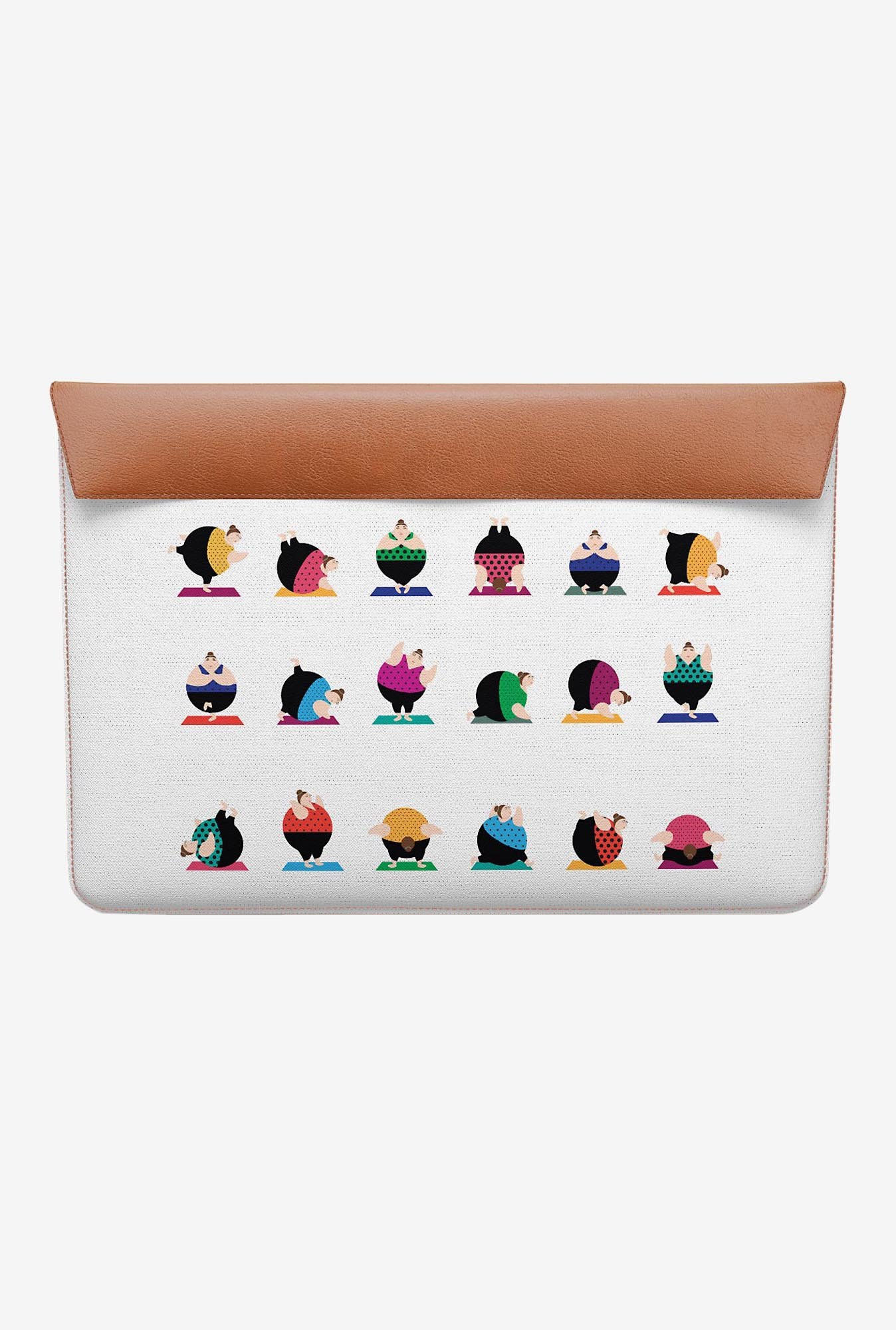 DailyObjects Yoga Girls Pose MacBook Air 11 Envelope Sleeve
