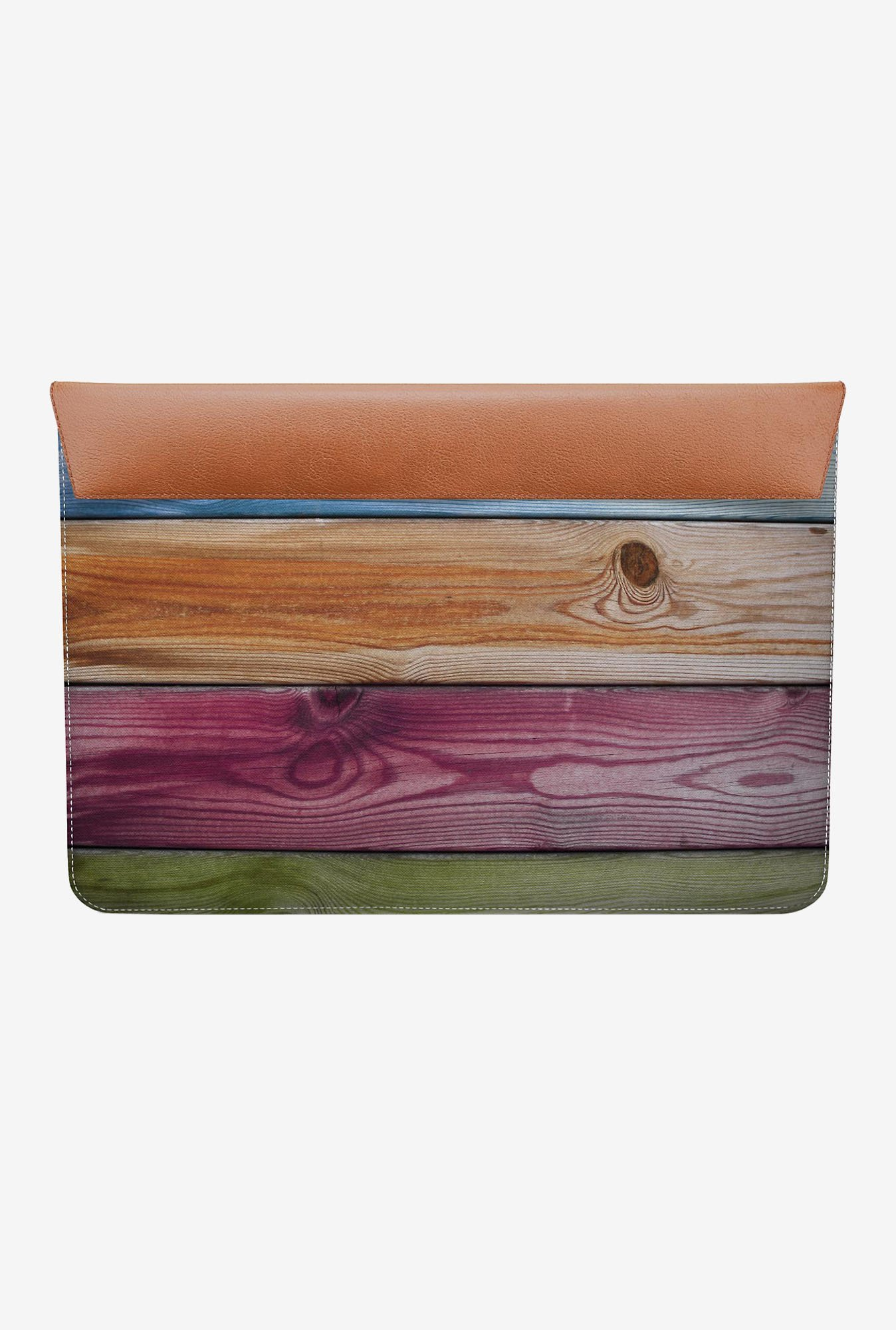 DailyObjects Wooden Rainbow MacBook Air 13 Envelope Sleeve