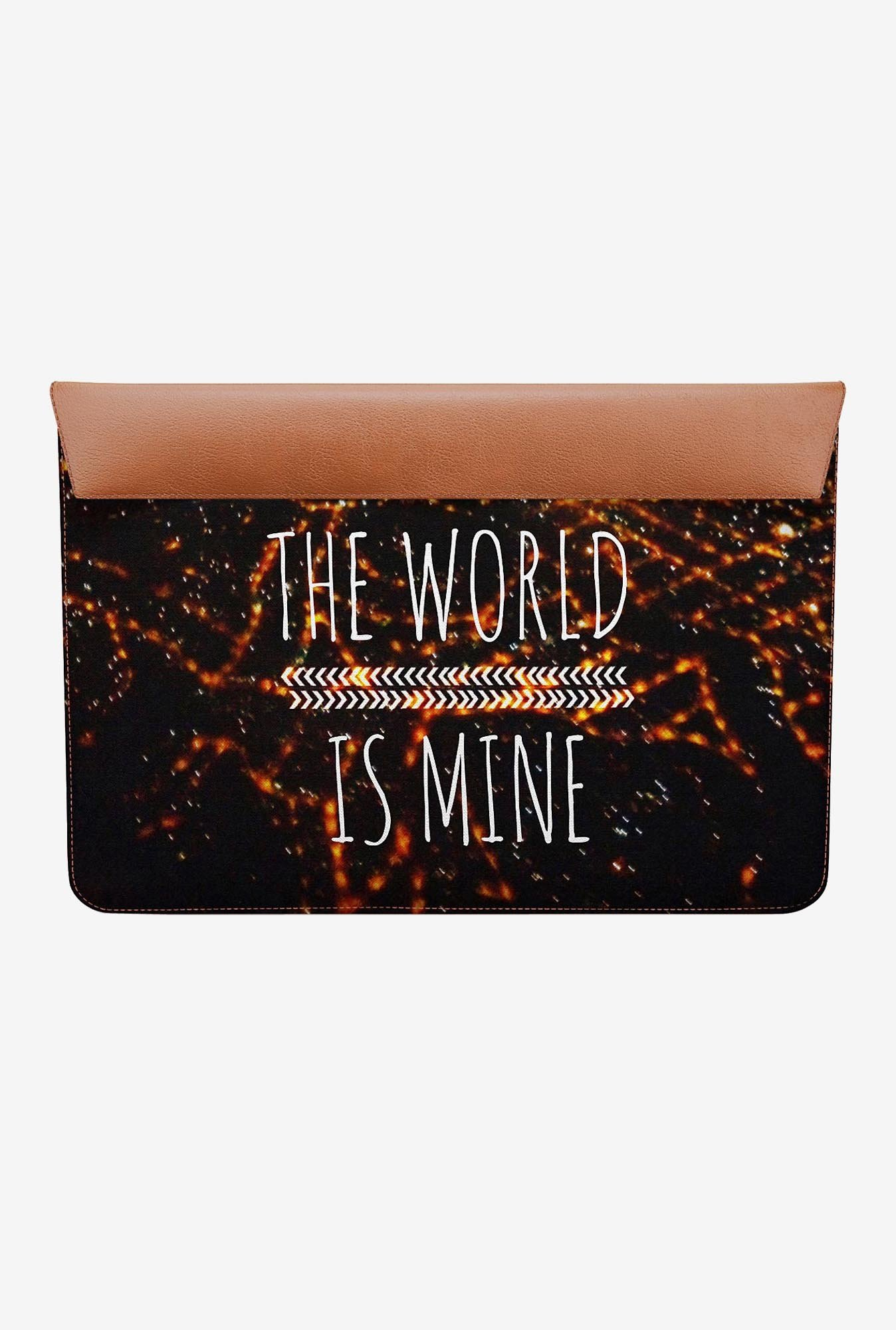 DailyObjects World is mine MacBook Pro 13 Envelope Sleeve