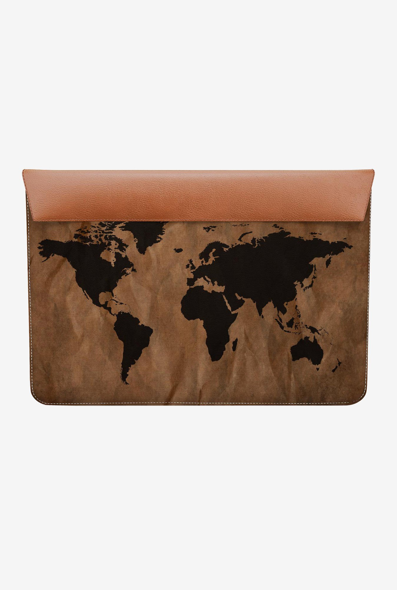 DailyObjects World Map MacBook 12 Envelope Sleeve
