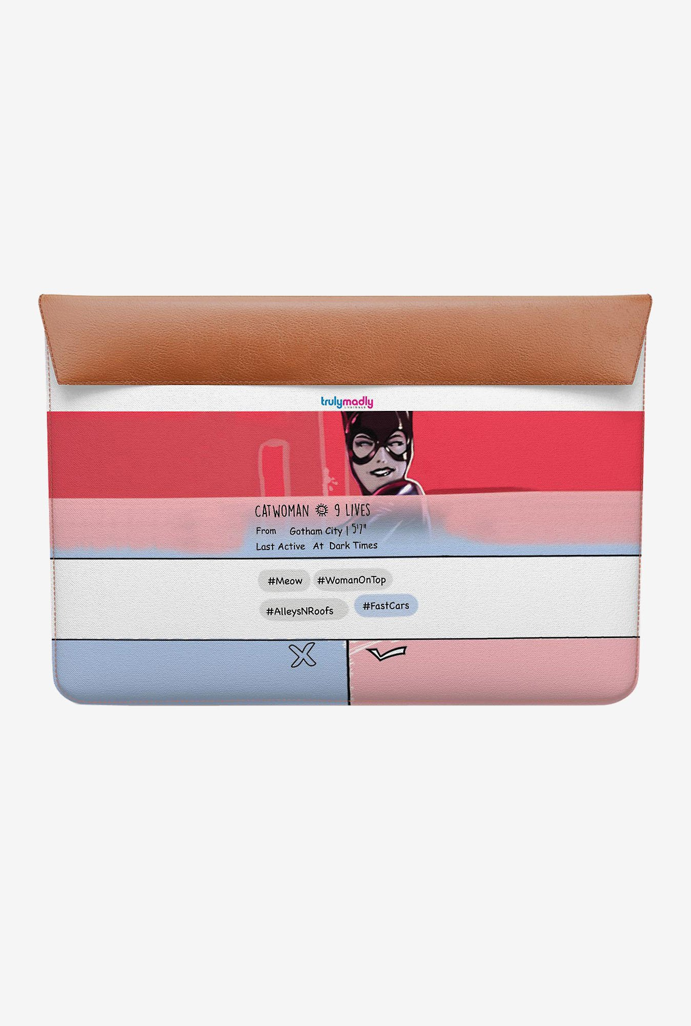 DailyObjects Swipe Catwoman MacBook Air 13 Envelope Sleeve