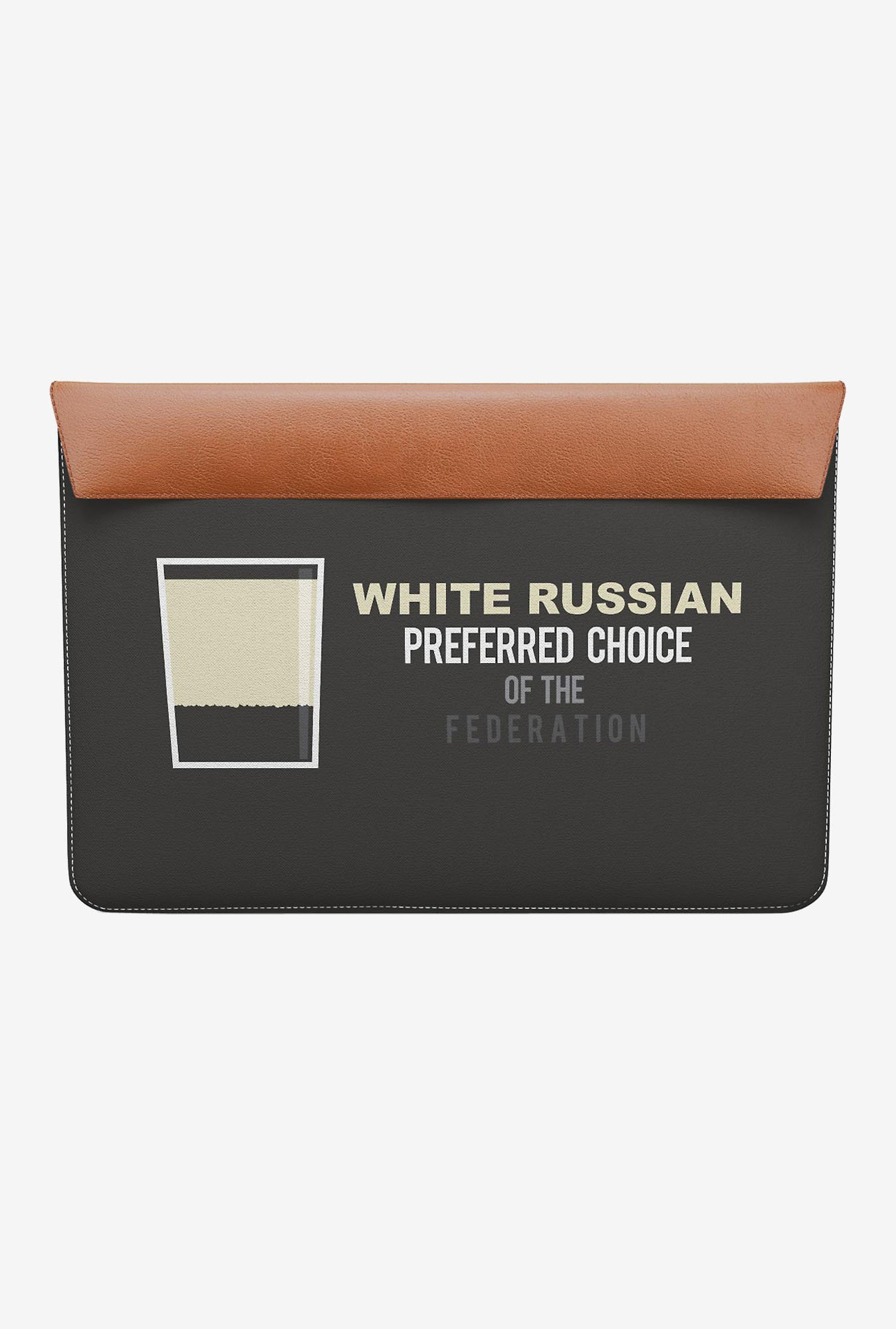 DailyObjects White Russian MacBook 12 Envelope Sleeve
