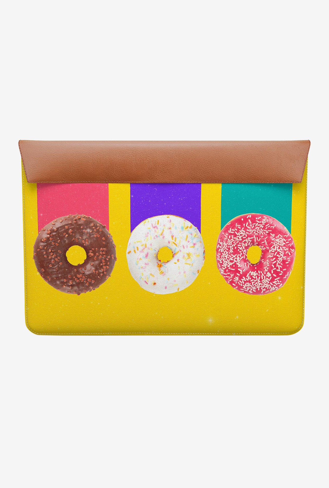 DailyObjects Trio Donuts MacBook 12 Envelope Sleeve