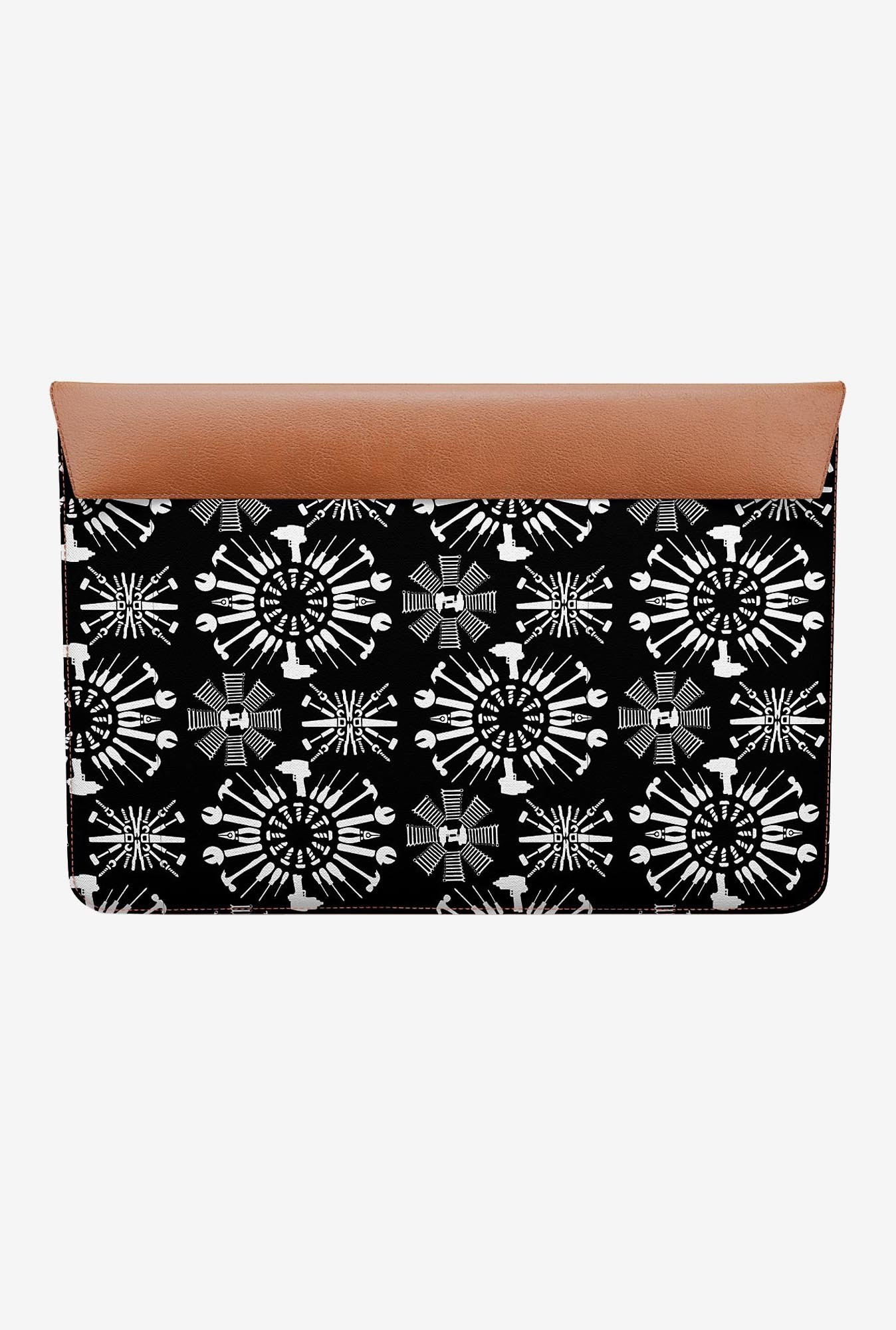 DailyObjects Tools Black MacBook 12 Envelope Sleeve