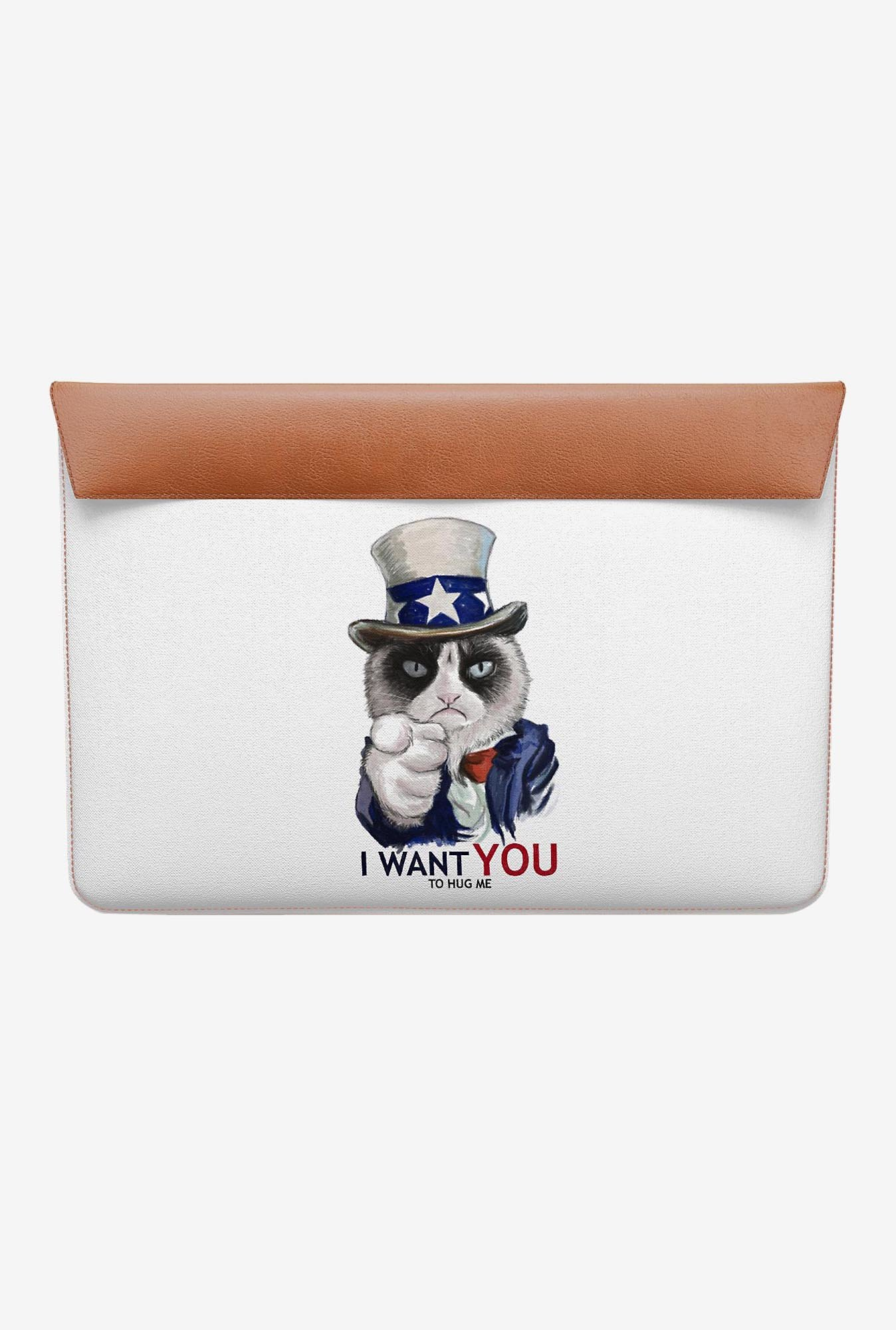 DailyObjects Uncle Sam Cat MacBook 12 Envelope Sleeve