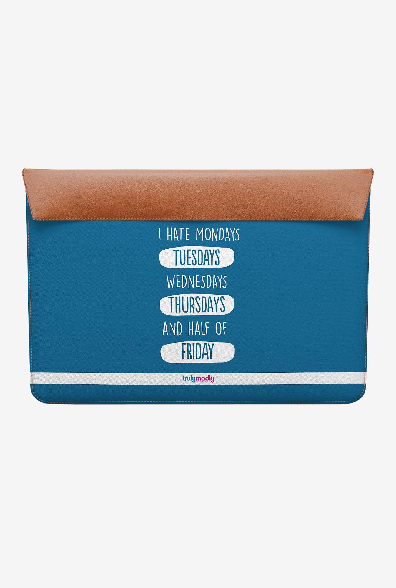 DailyObjects Weekday Hate MacBook Air 11 Envelope Sleeve