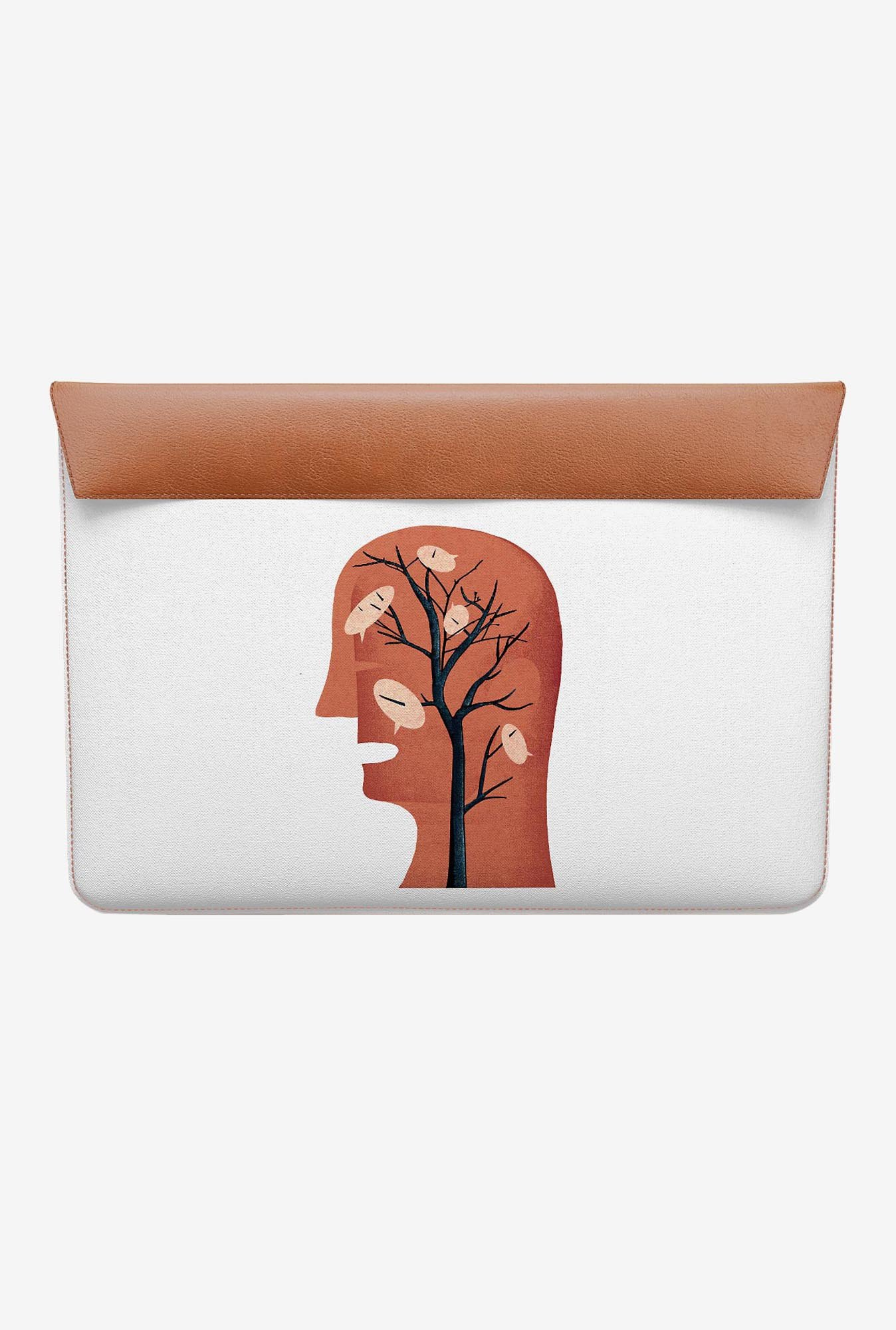 DailyObjects Unspoken Thought MacBook 12 Envelope Sleeve