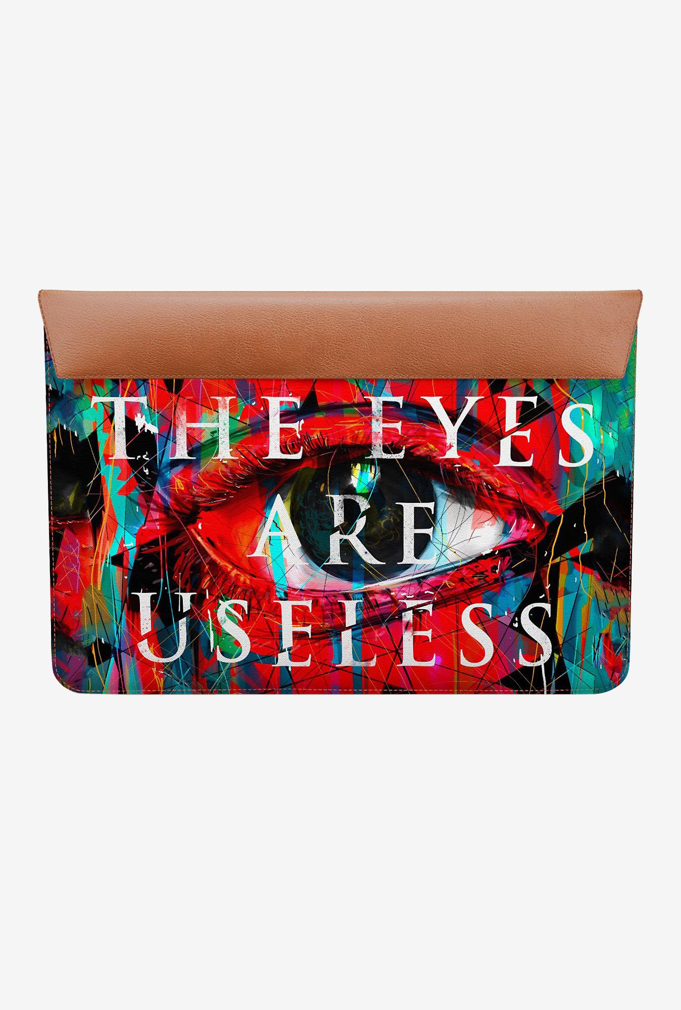 DailyObjects Useless Eyes MacBook 12 Envelope Sleeve