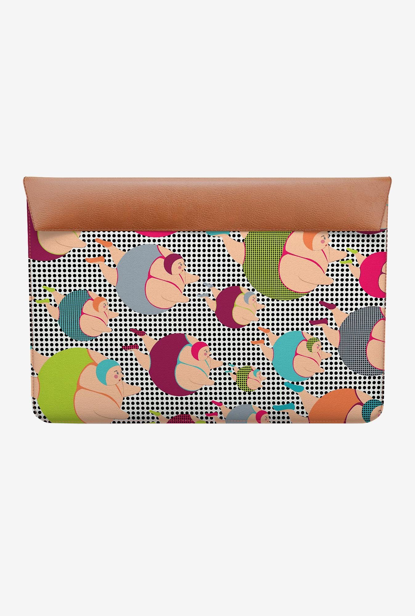 DailyObjects Spotty Swimmers MacBook 12 Envelope Sleeve