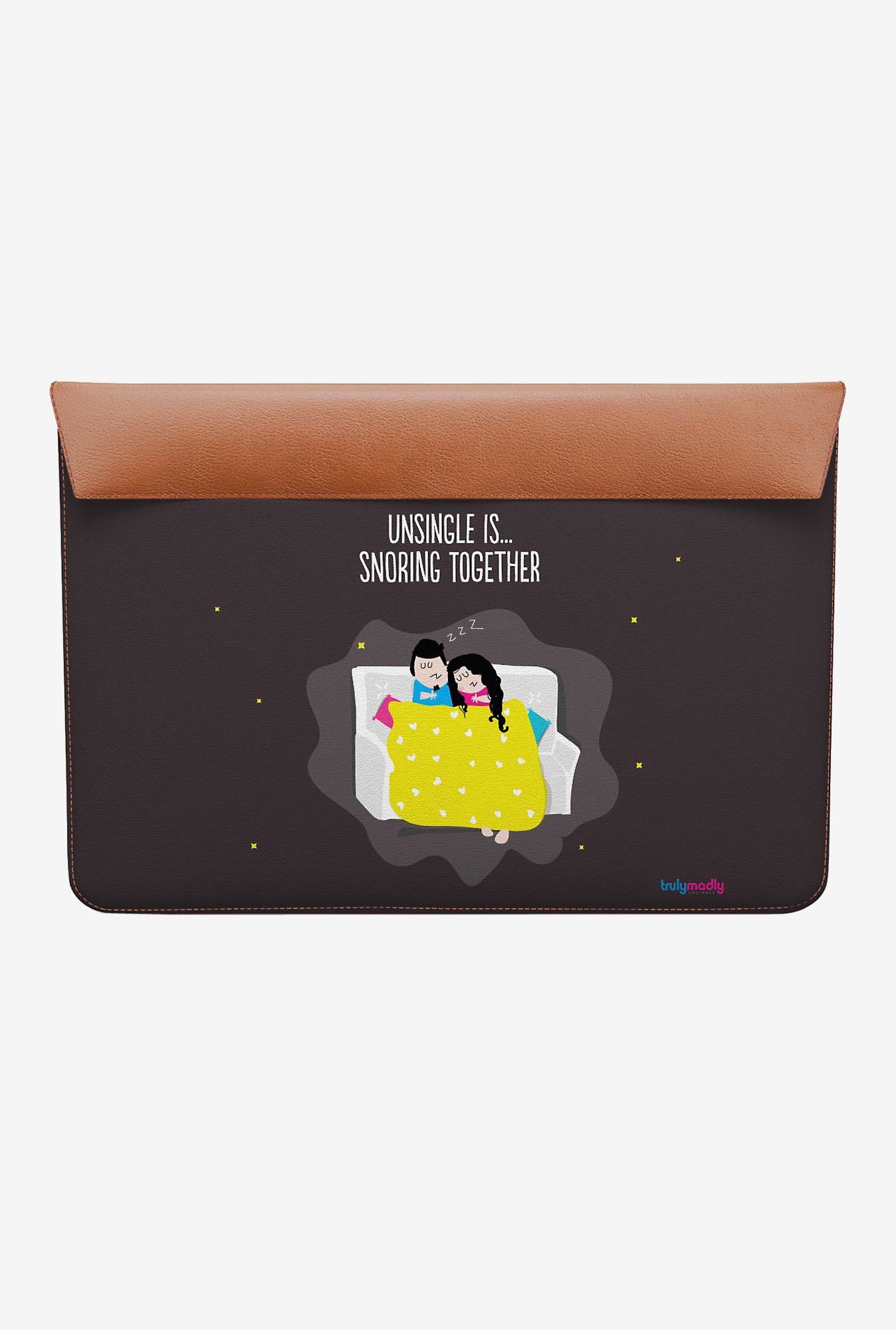 DailyObjects Snoring Together MacBook Air 11 Envelope Sleeve