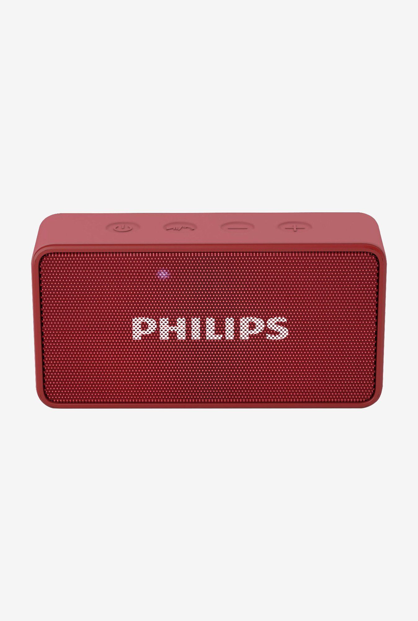 Philips BT64R/94 Wireless Portable Bluetooth Speaker (Red)