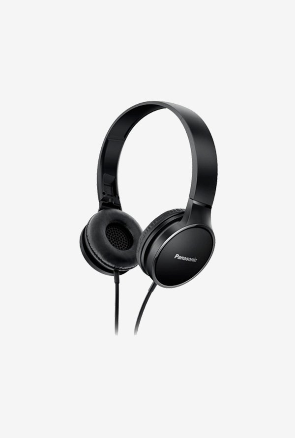 Panasonic RP-HF300 On The Ear Headphones (Black)
