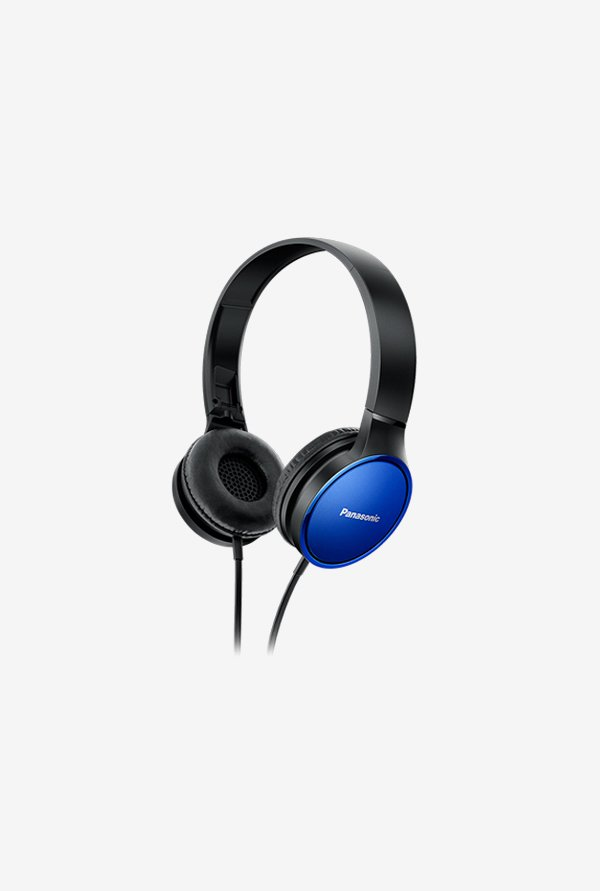 Panasonic RP-HF300 On The Ear Headphones (Blue)