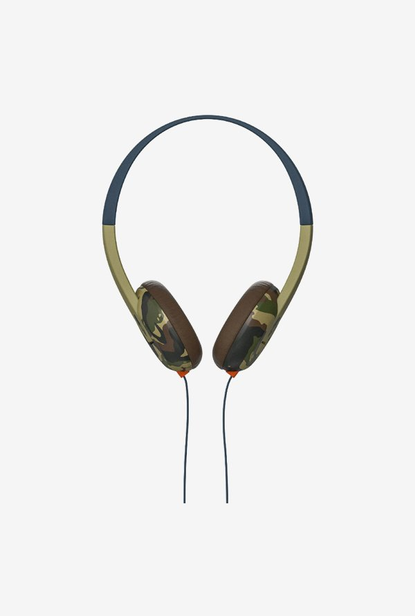 Skullcandy Uproar On The Ear Headphones (Khaki)