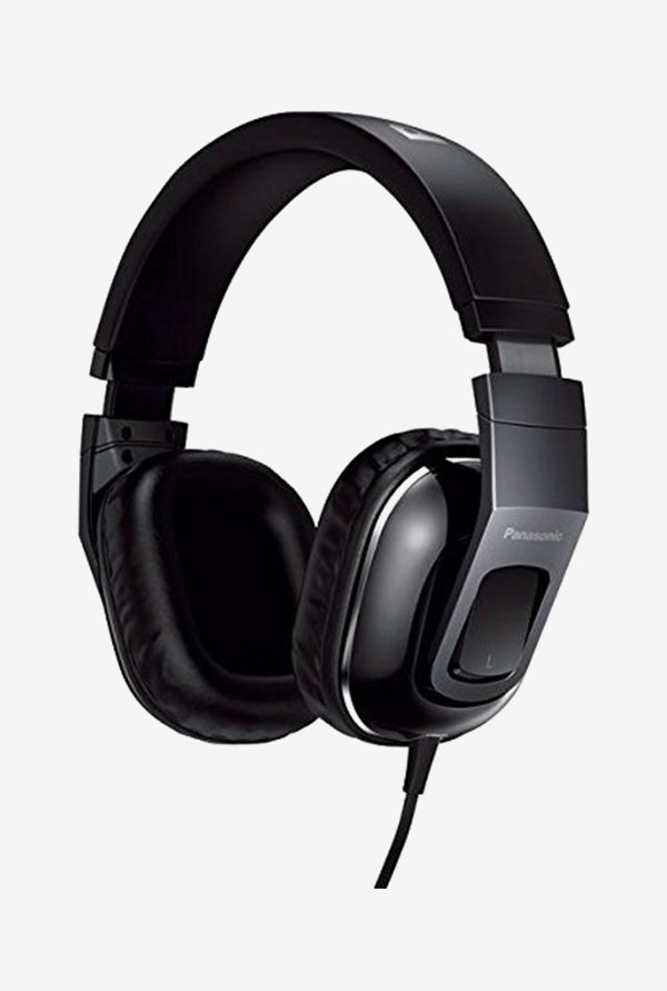 Panasonic RP-HT480C Over The Ear Headphones (Black)