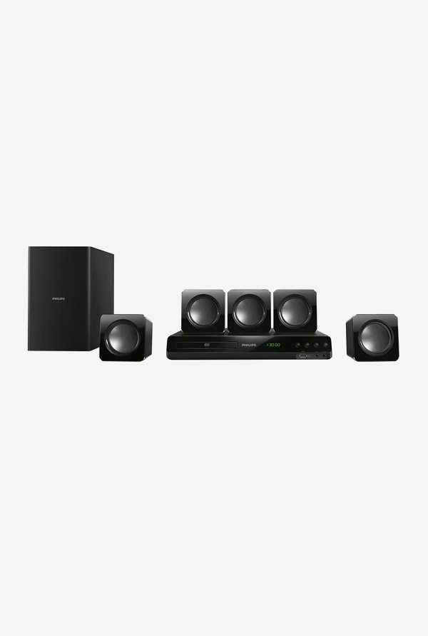 Philips HTD3509 5.1 Home Theater System (Black)