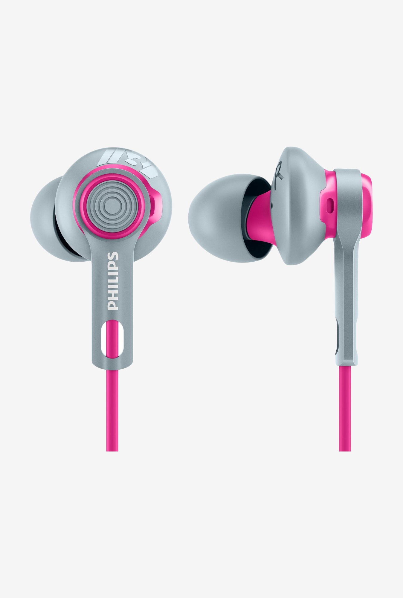 Philips SHQ2300 In The Ear Headphones (Pink)