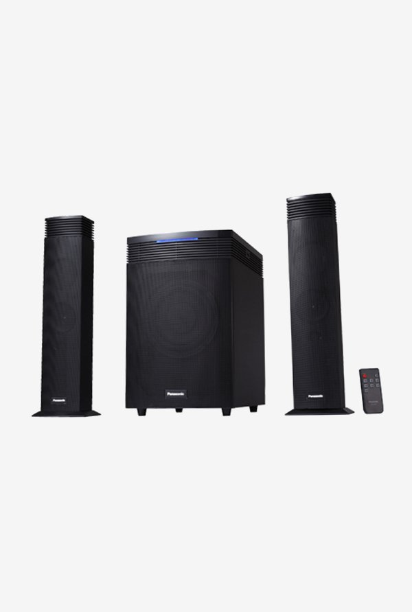 Panasonic SC-HT21GW 2.1 Computer Speakers (Black)