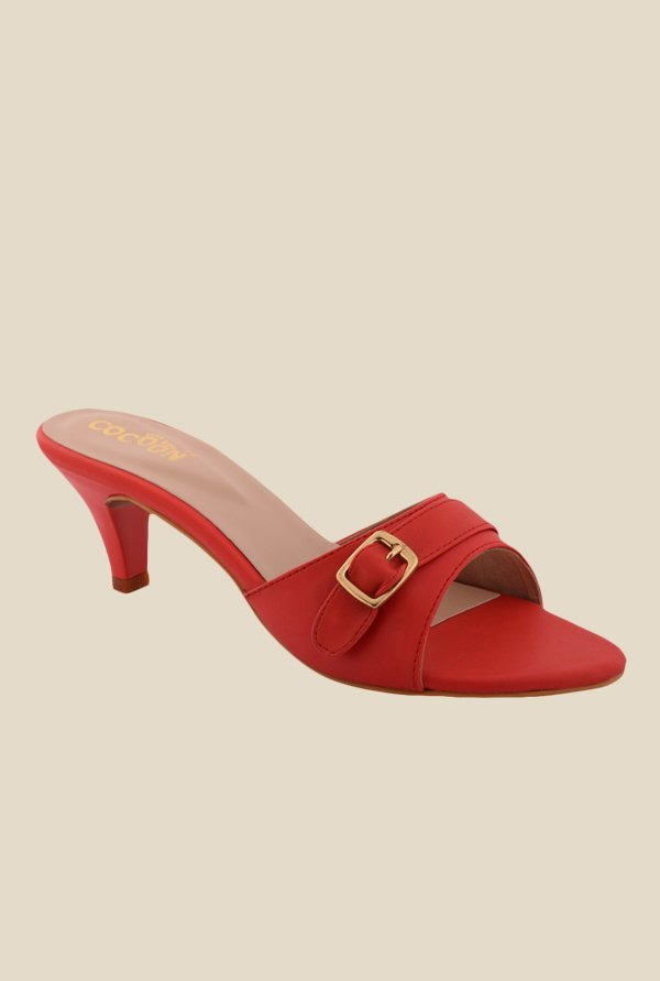 Cocoon Red Casual Sandals