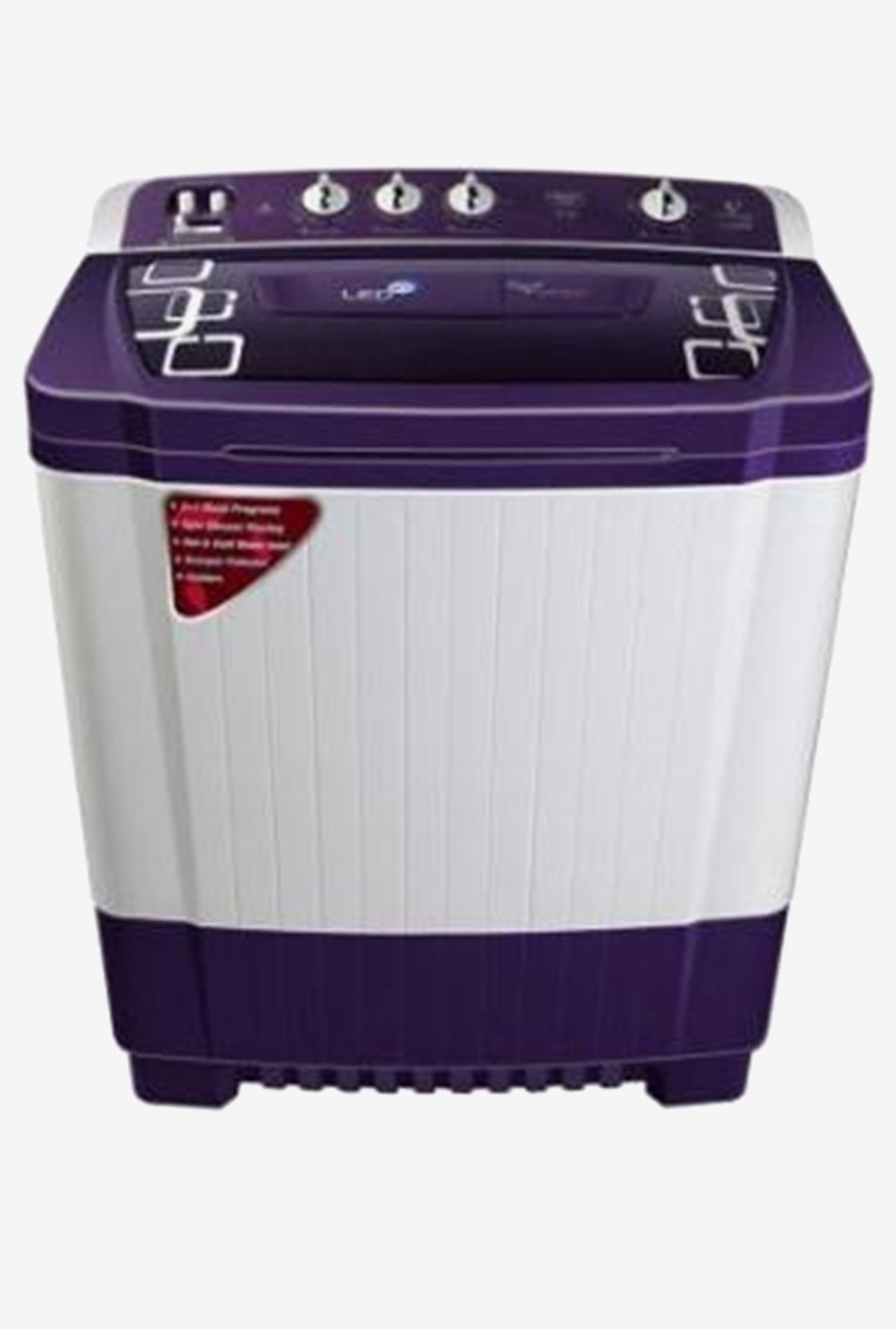 Videocon VS85P18 8.5kg Virat Ultima+ Semi-automatic (Purple)