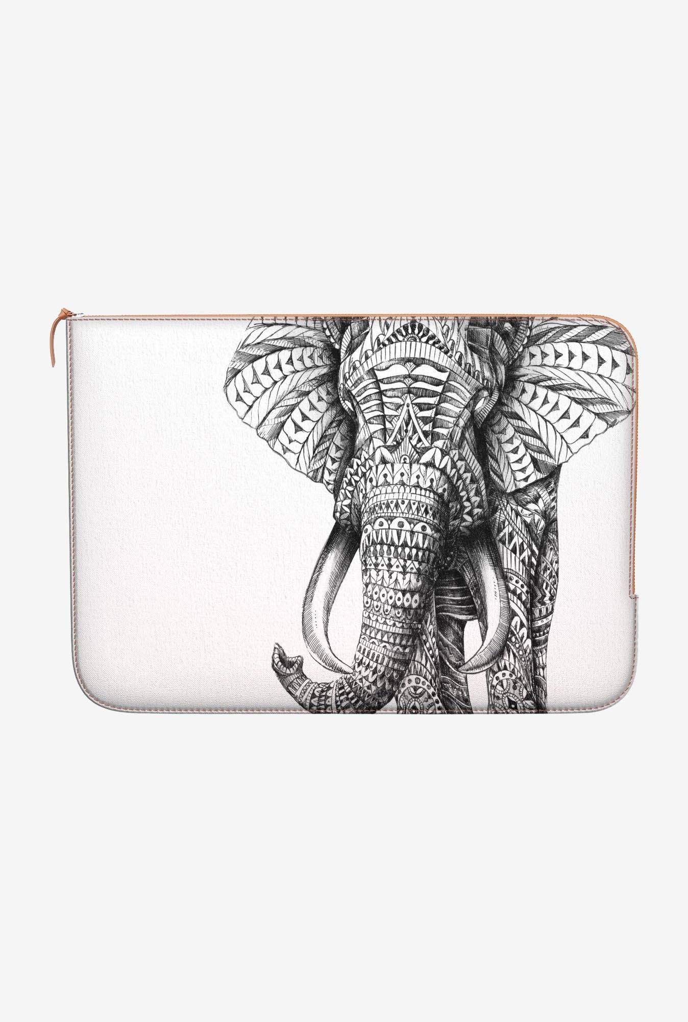 DailyObjects Ornate Elephant MacBook 12 Zippered Sleeve