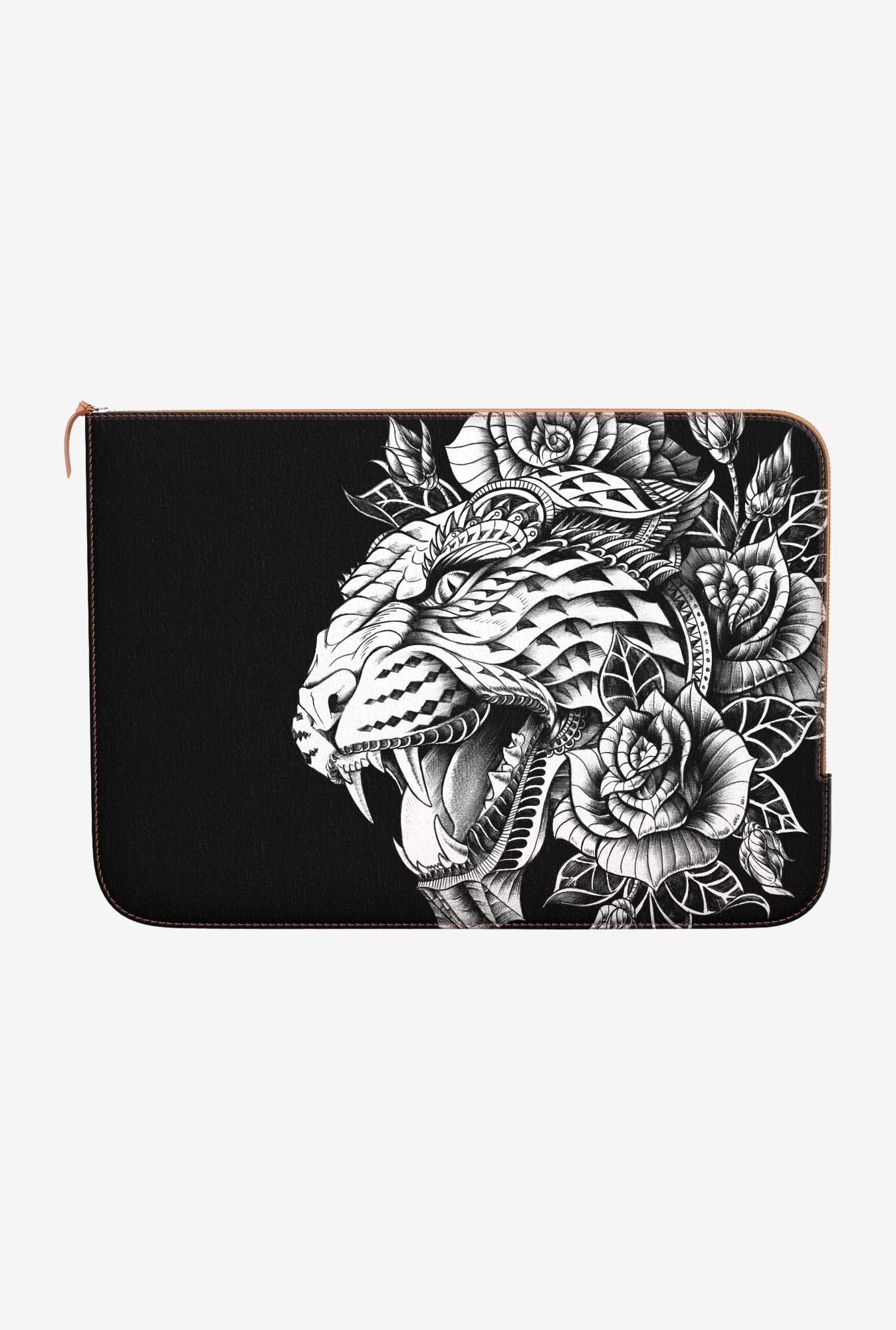 DailyObjects Ornate Leopard MacBook 12 Zippered Sleeve