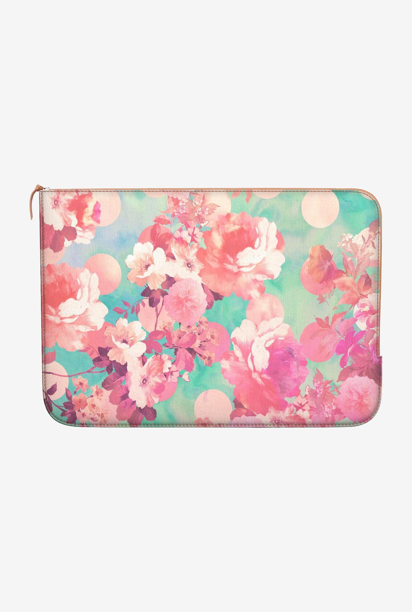 DailyObjects Floral Polka MacBook Air 13 Zippered Sleeve