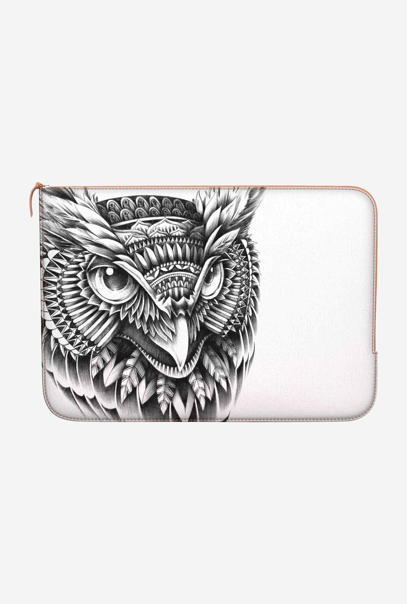 DailyObjects Ornate Owl Head MacBook 12 Zippered Sleeve