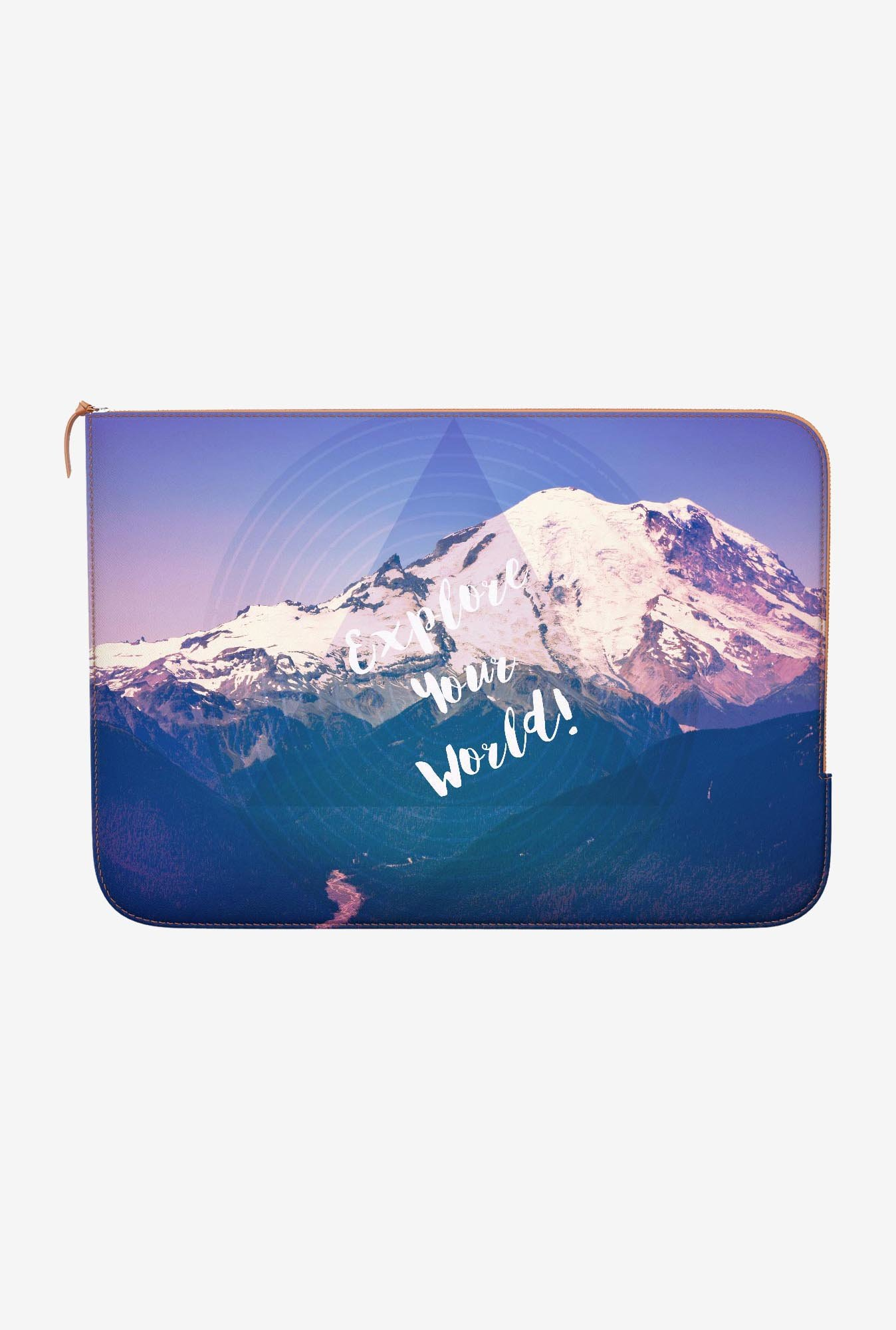 DailyObjects Explore World MacBook Pro 15 Zippered Sleeve