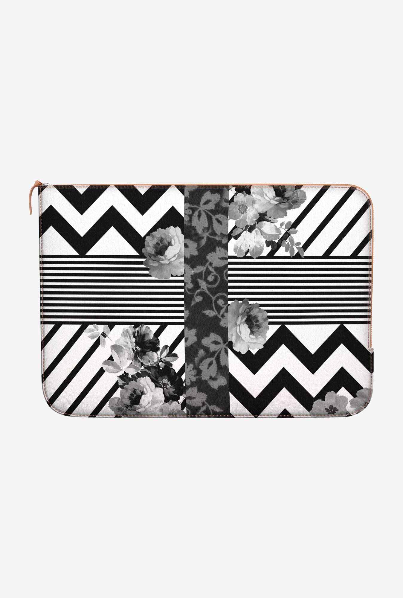 DailyObjects Trendy Stripes MacBook 12 Zippered Sleeve