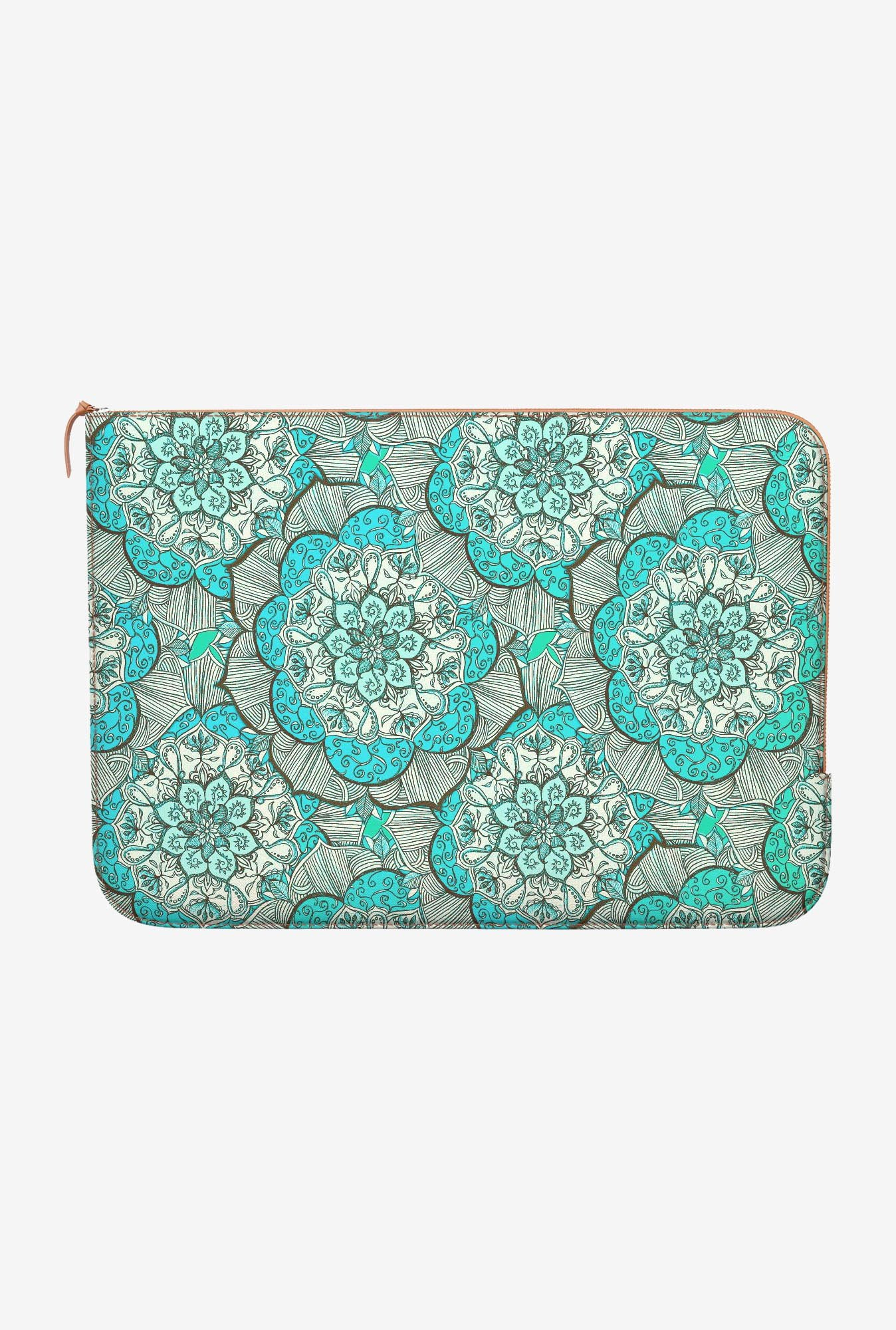 DailyObjects Fresh Doodle MacBook Pro 15 Zippered Sleeve