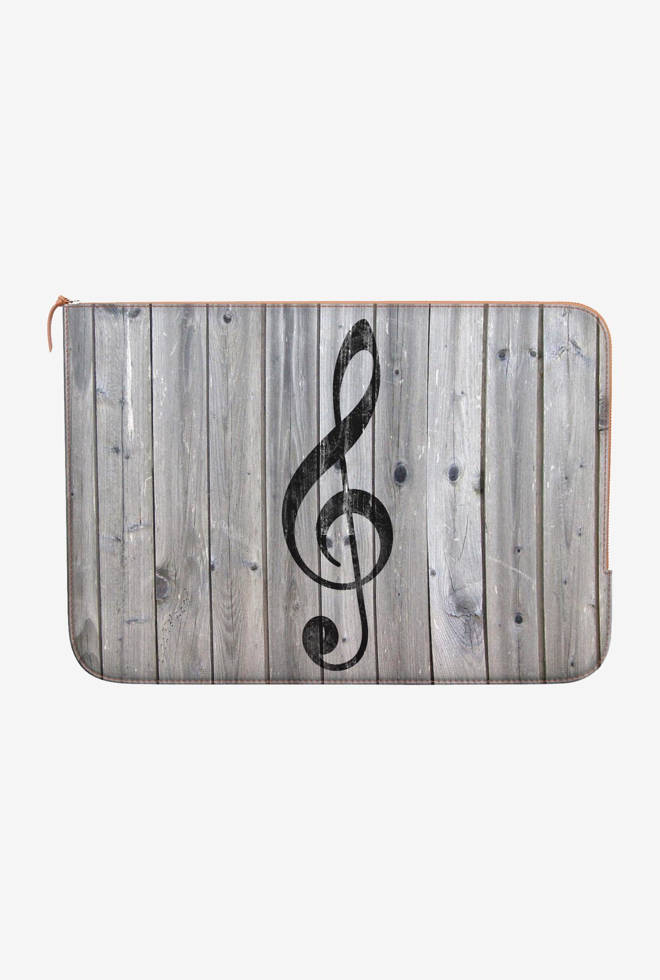 DailyObjects Music Note MacBook Air 11 Zippered Sleeve