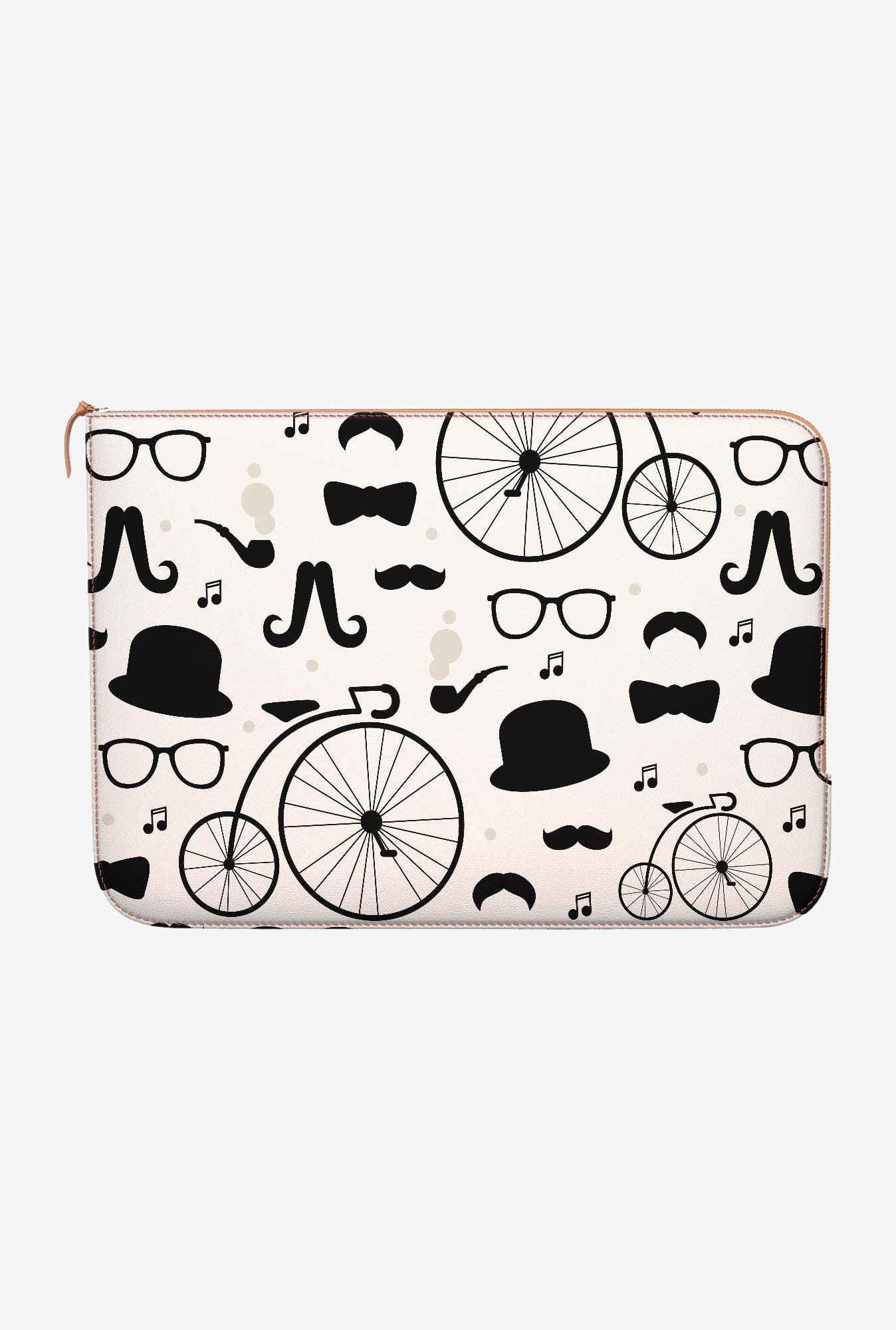 DailyObjects Hipster Icons MacBook Pro 15 Zippered Sleeve