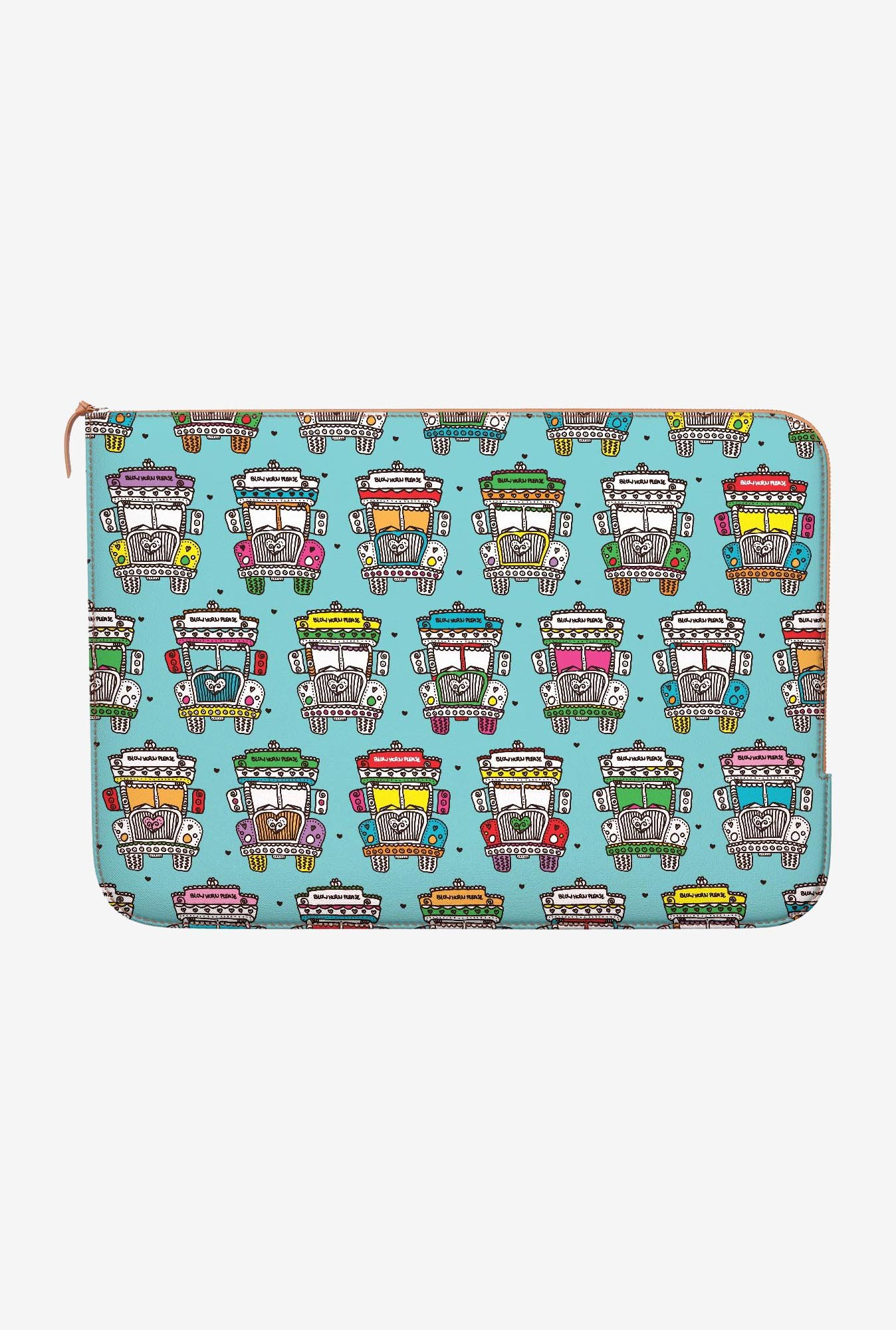 DailyObjects Indian Truck MacBook Pro 15 Zippered Sleeve