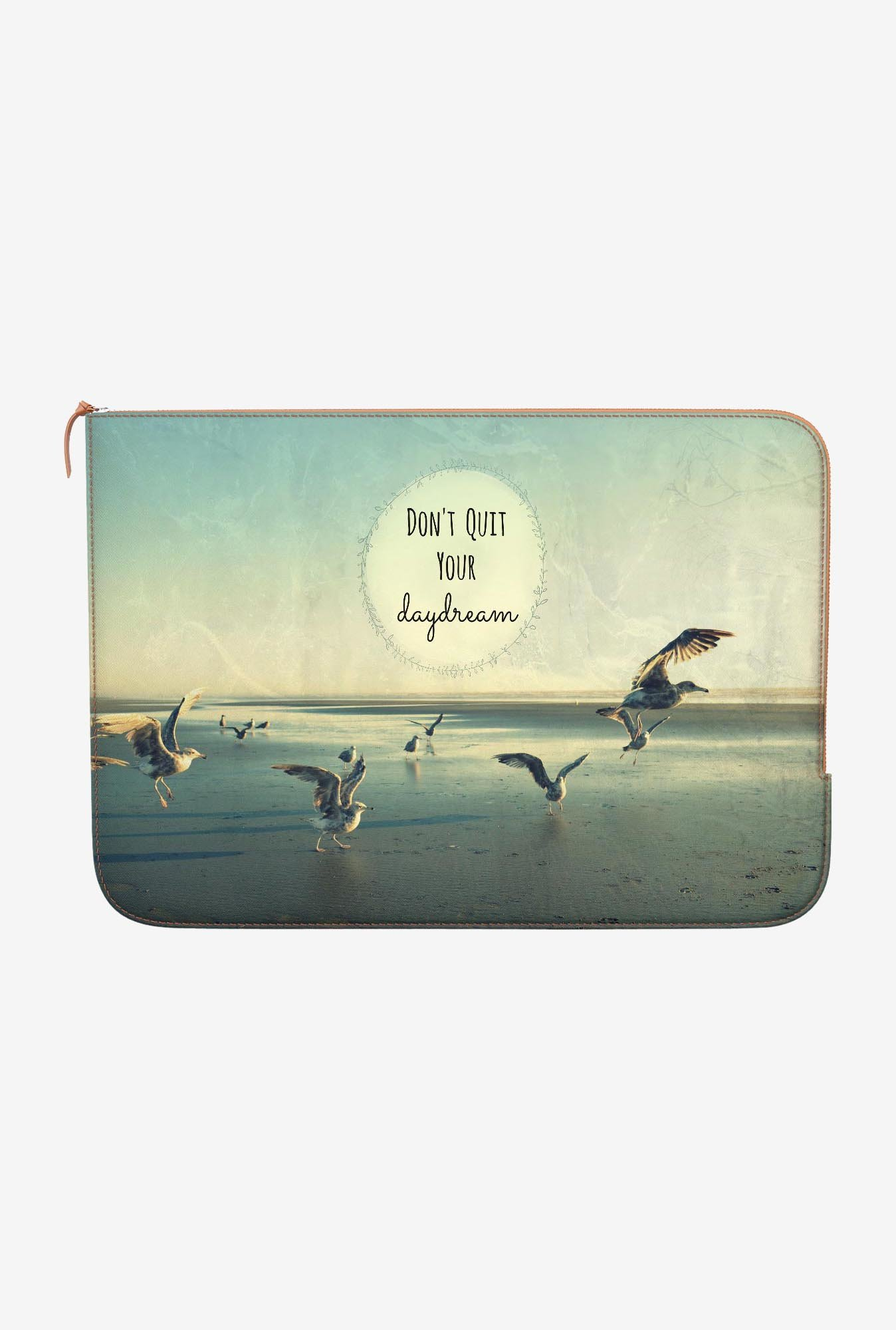 DailyObjects Do Not Quit MacBook 12 Zippered Sleeve