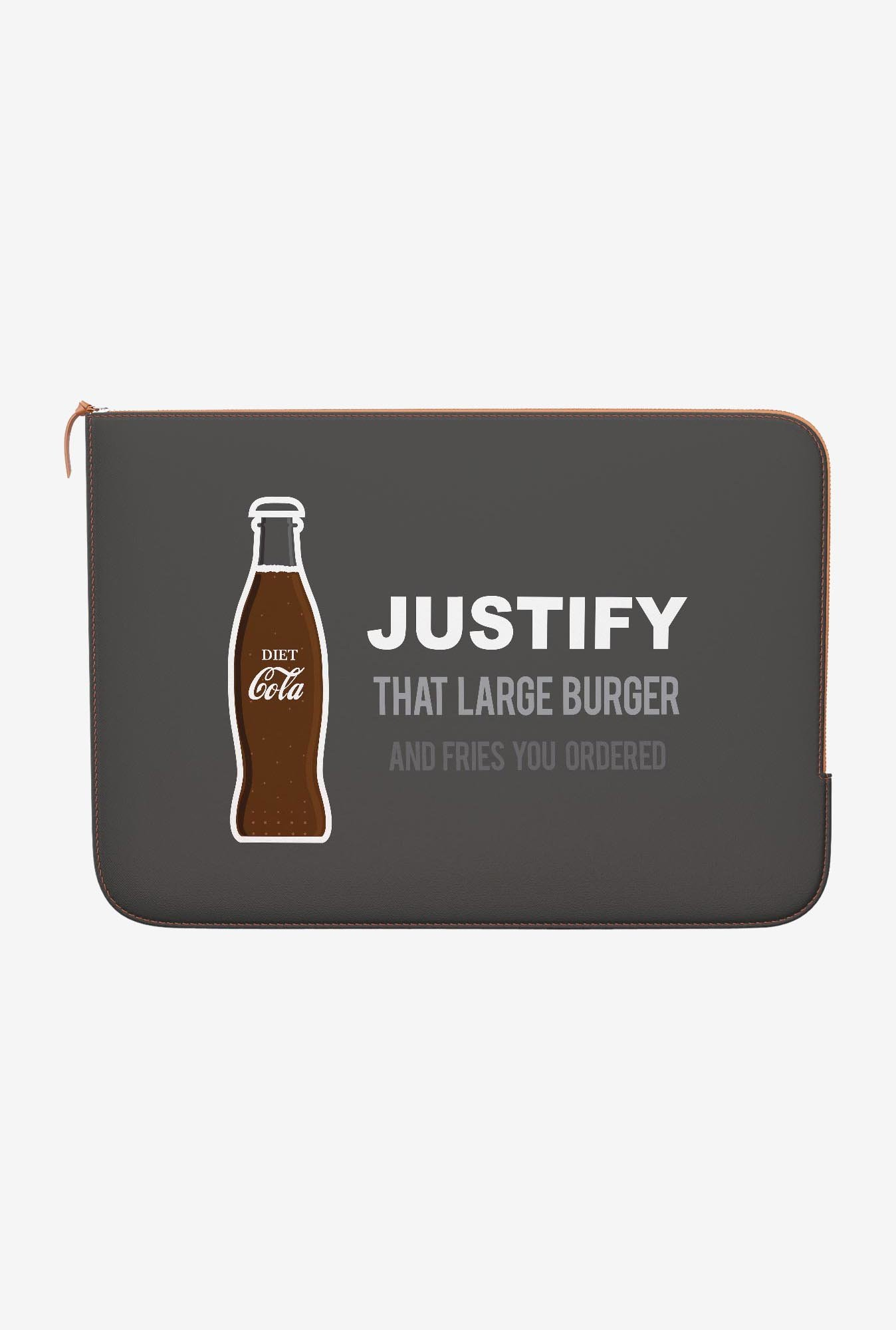 DailyObjects Diet Coke MacBook Air 11 Zippered Sleeve