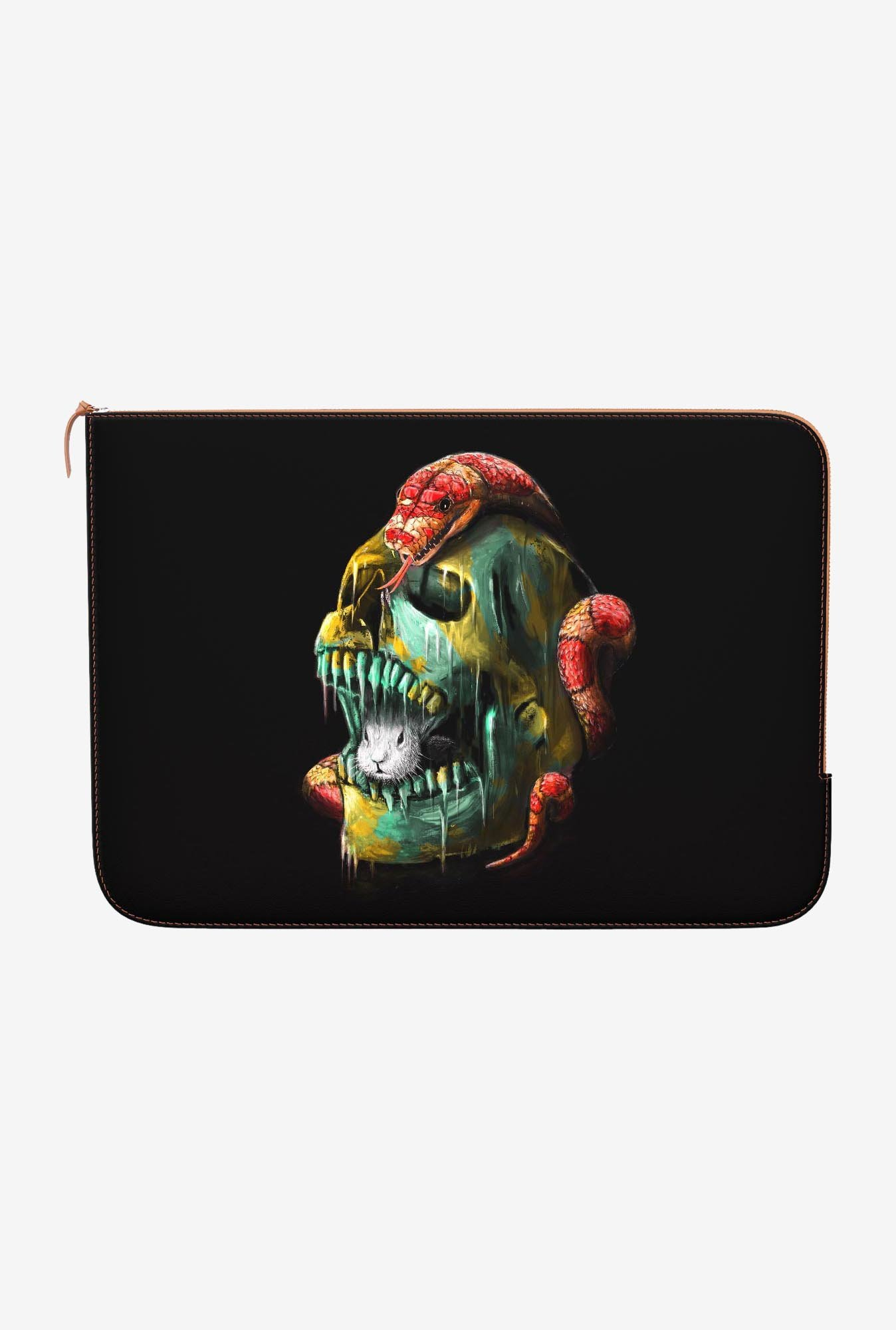 DailyObjects Fear and Desire MacBook 12 Zippered Sleeve