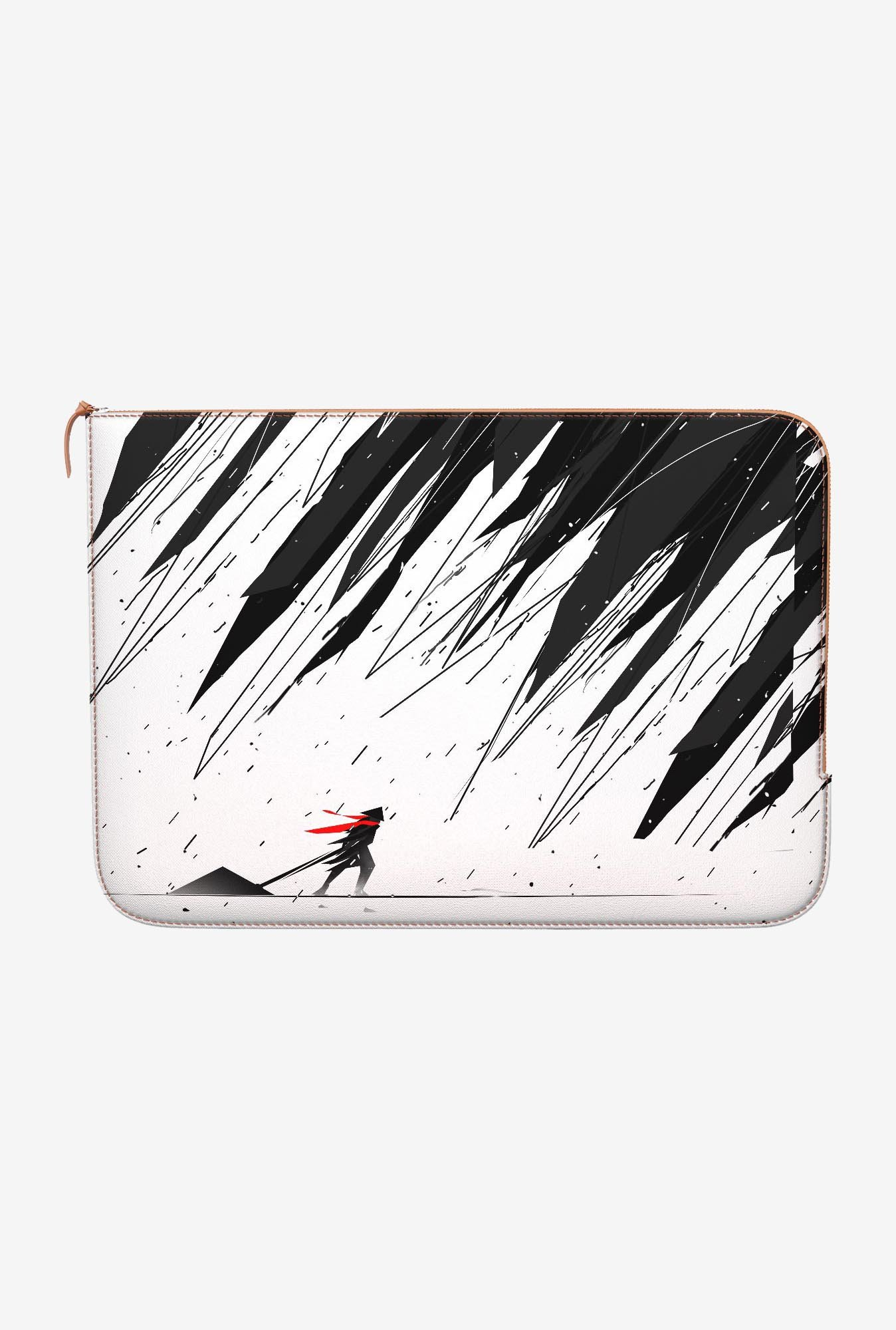 DailyObjects Geometric Storm MacBook 12 Zippered Sleeve
