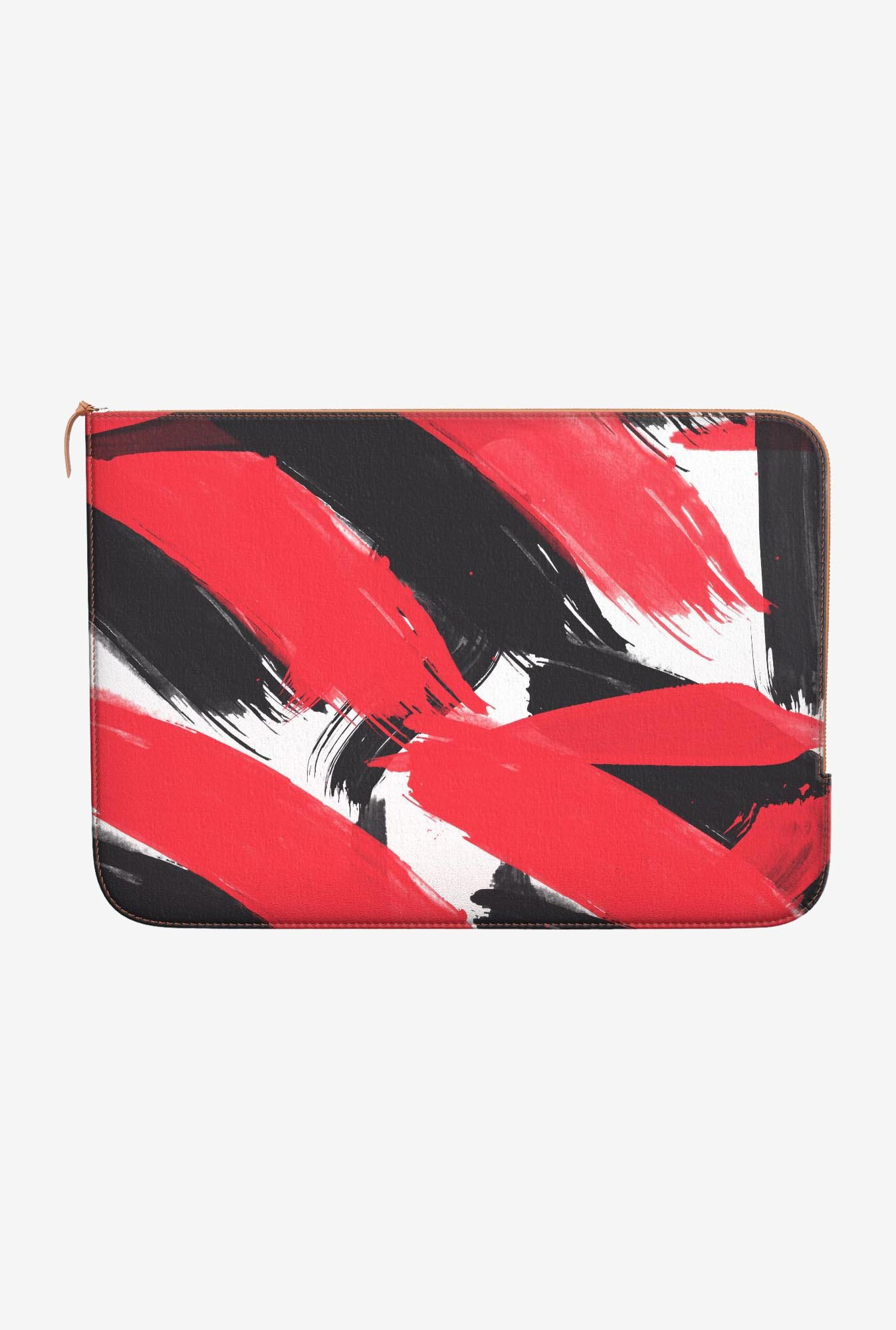 DailyObjects Abstract Black MacBook 12 Zippered Sleeve