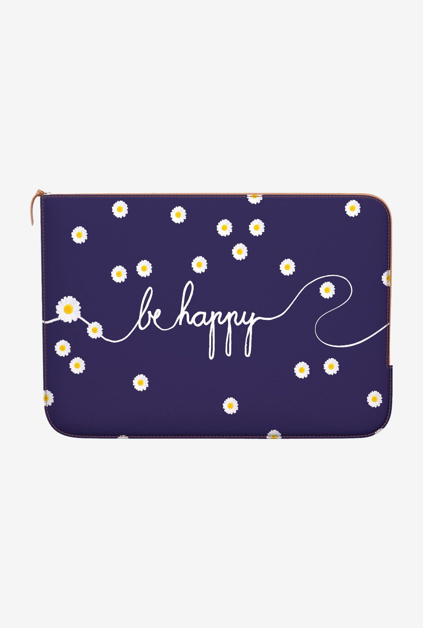 DailyObjects Happy Daisy MacBook 12 Zippered Sleeve