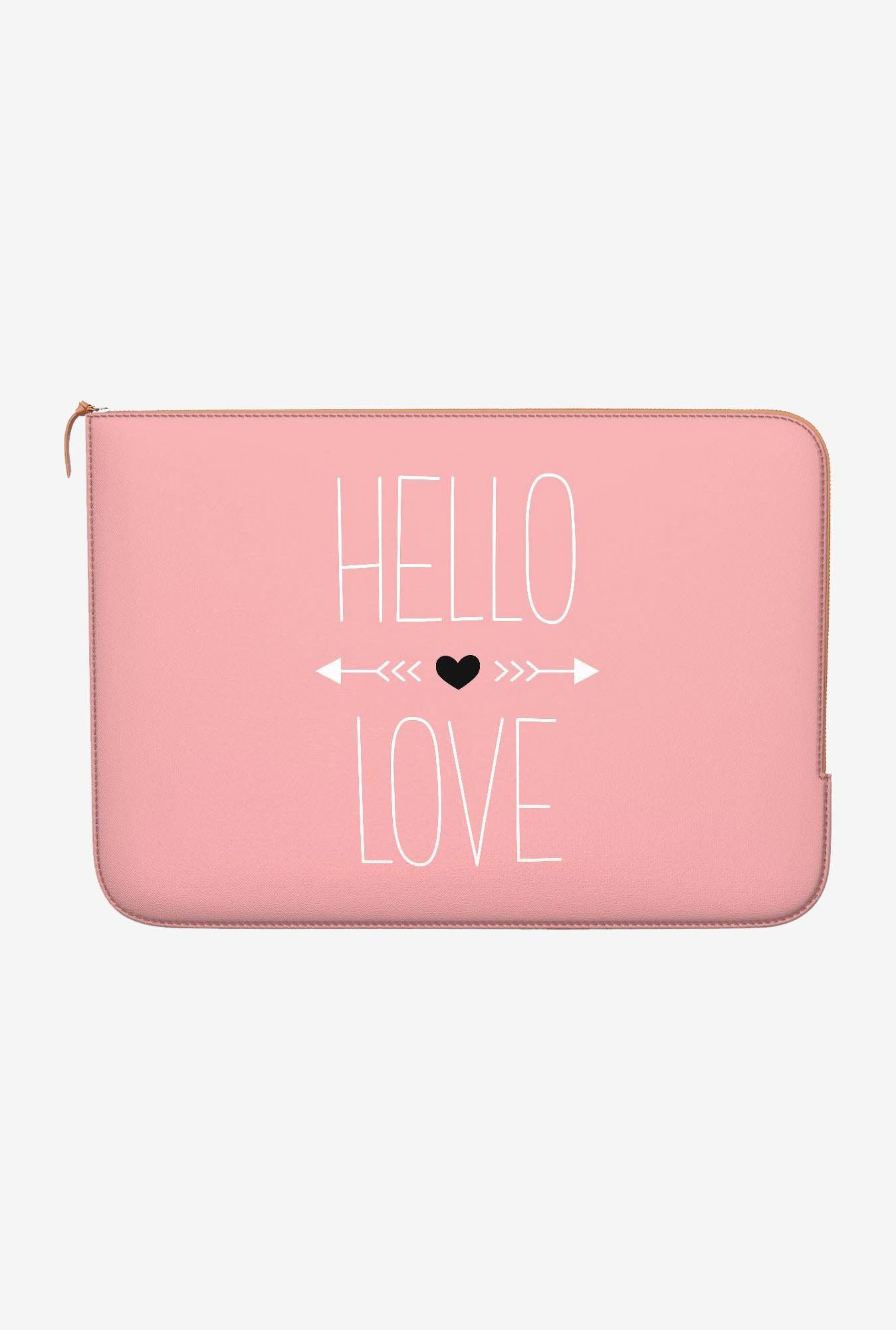 DailyObjects Hello Love MacBook 12 Zippered Sleeve