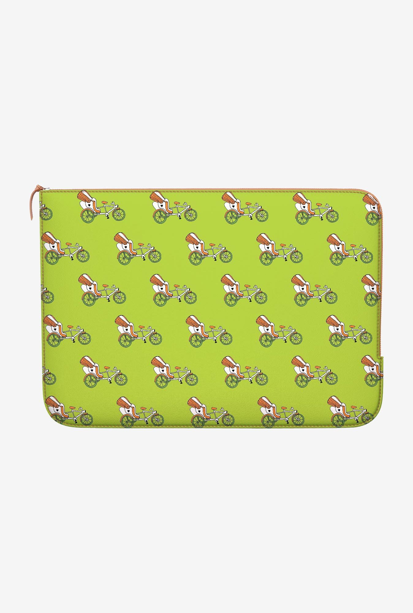 DailyObjects Green Rickshaw MacBook Air 11 Zippered Sleeve